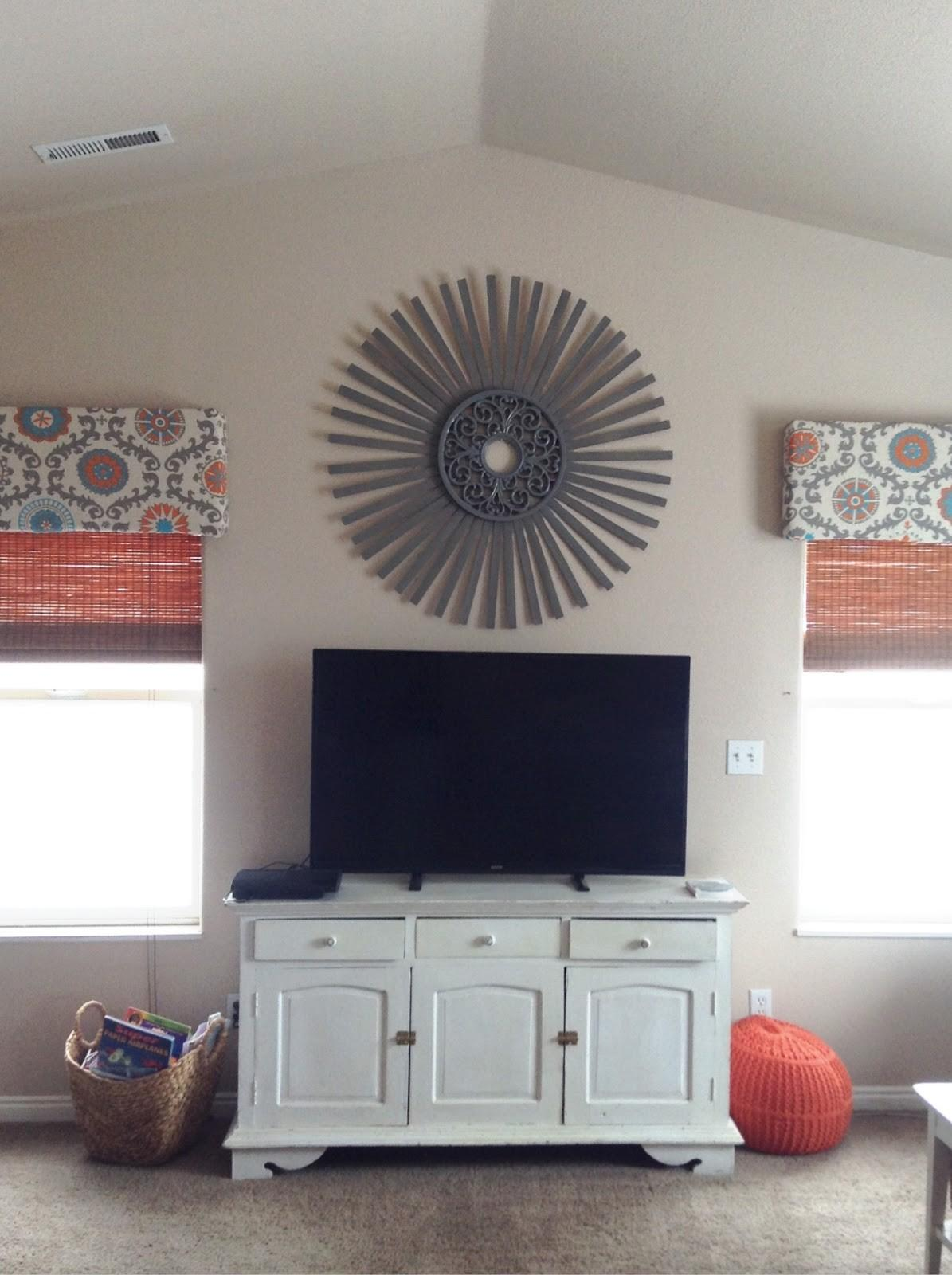 Sunburst Diy Roman Shade Tutorial Easy Cornice