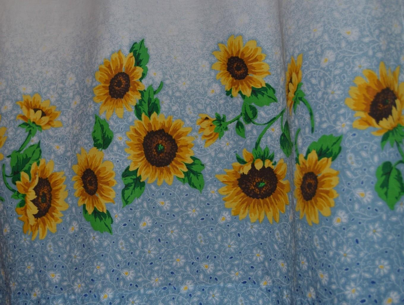 Sunflower Shower Curtain Accessories Curtains Over