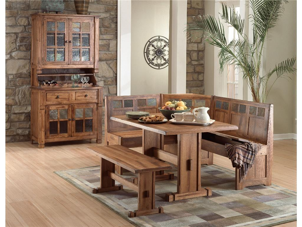 Sunny Designs Dining Room Sedona Breakfast Nook Set