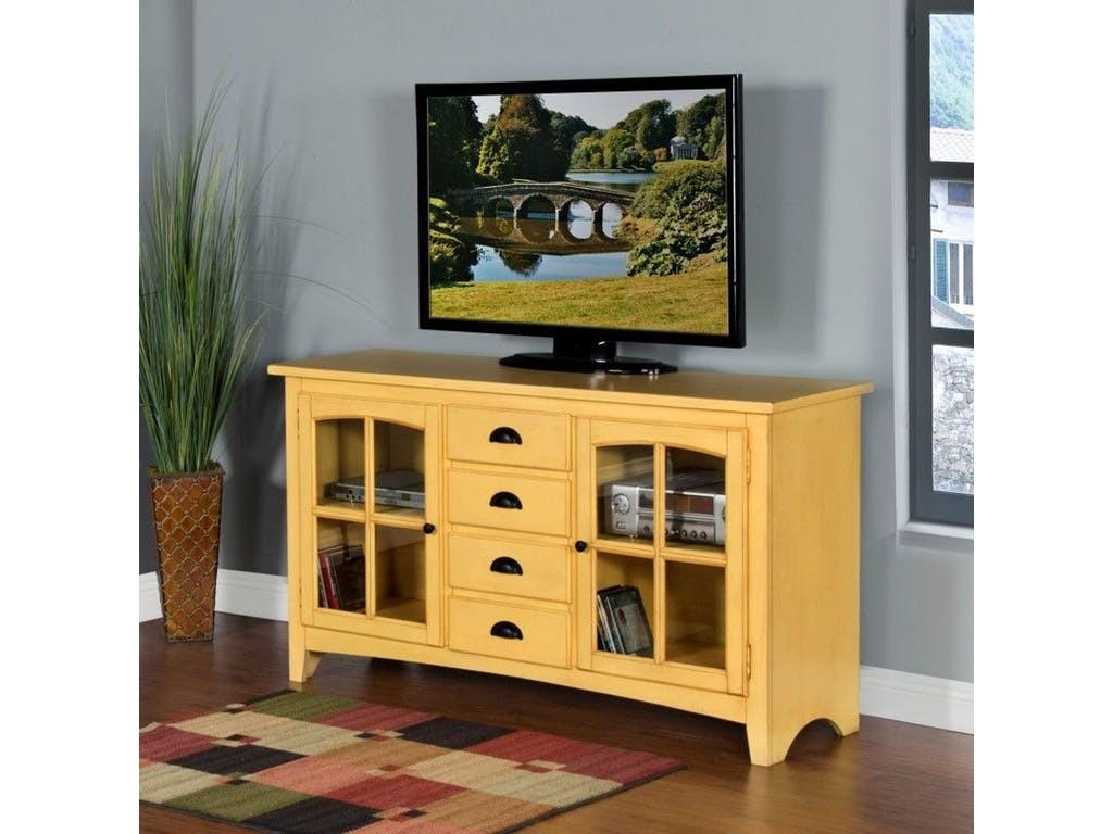 Sunny Designs Home Entertainment Tuscan Yellow Element
