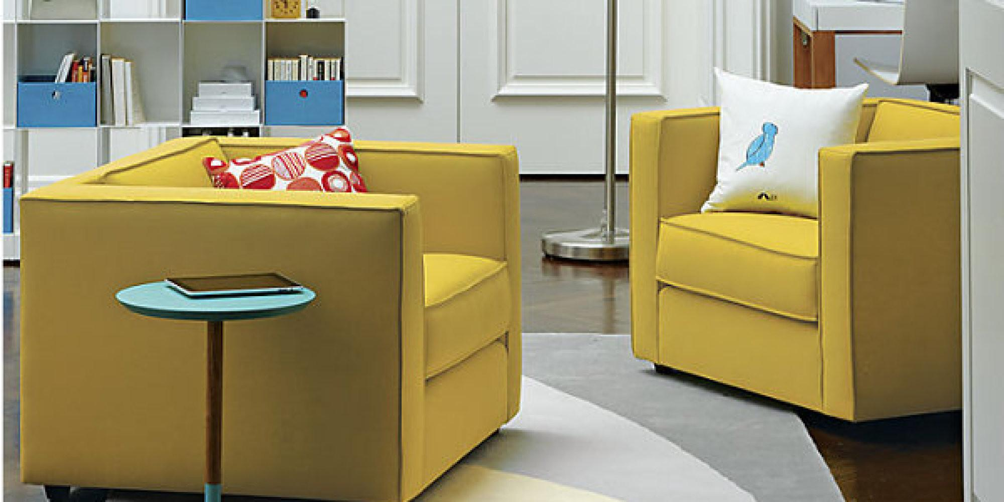 Sunny Yellow Furniture Finds Radiant Interior Huffpost