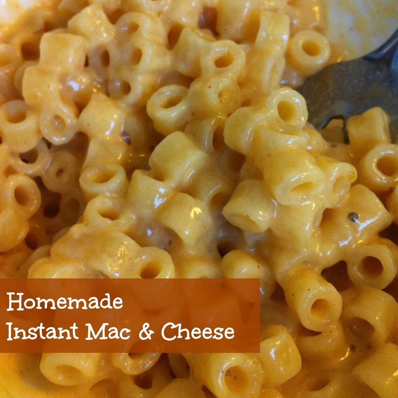 Sunshine Maker Meg Homemade Instant Mac Cheese