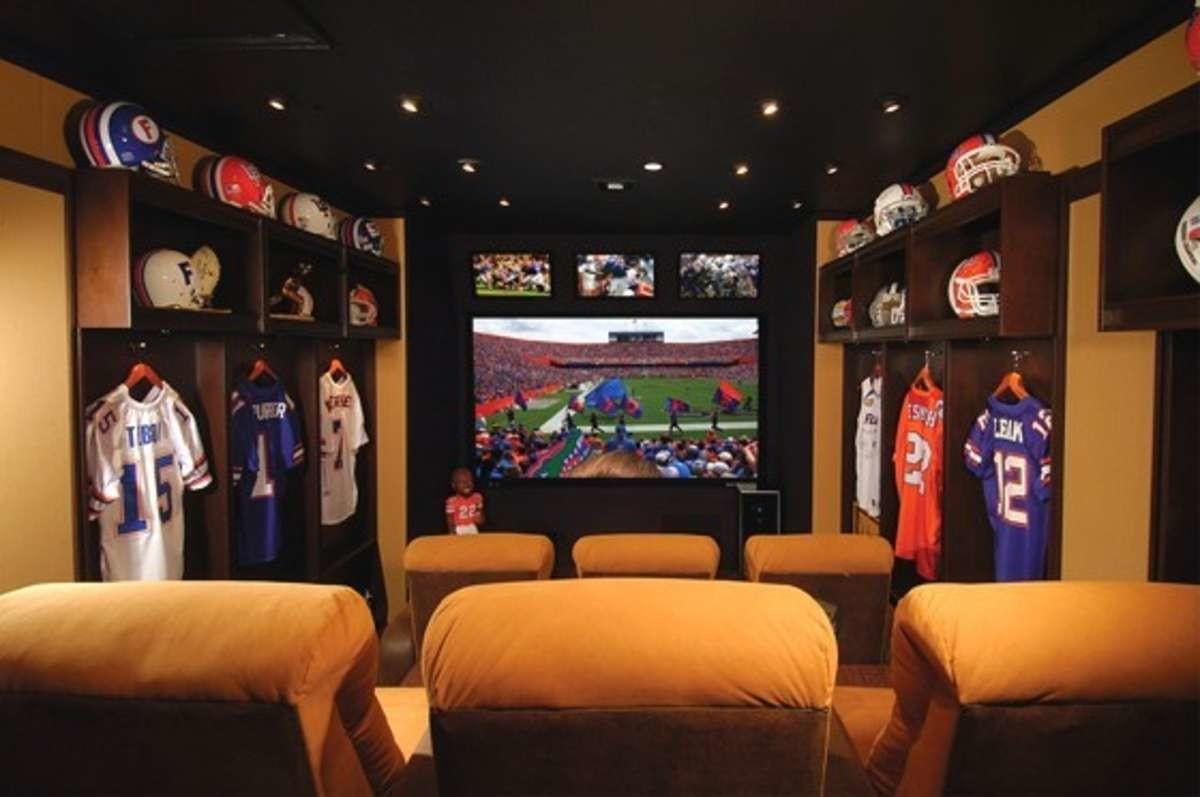 Super Bowl Top Man Caves House Guests Themacnabs
