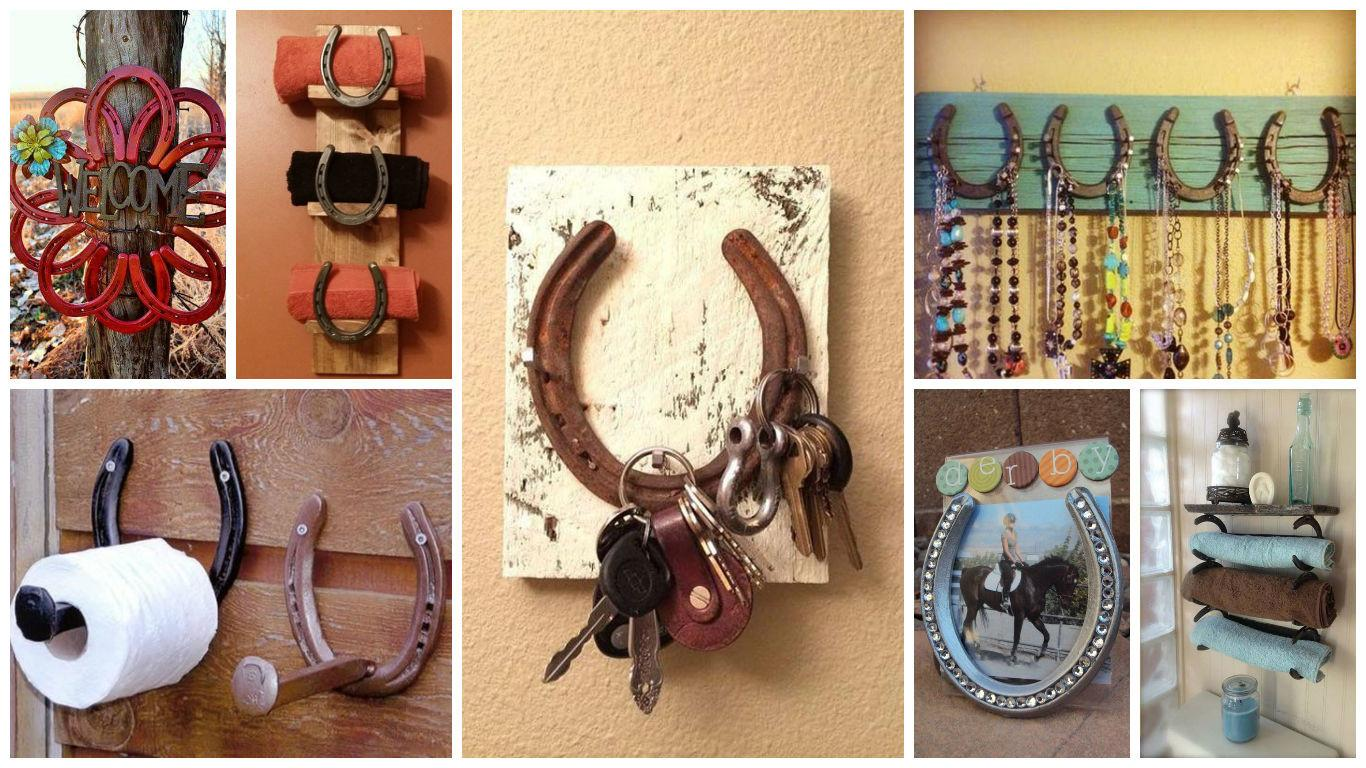 Super Cool Diy Horseshoe Projects Add Charm