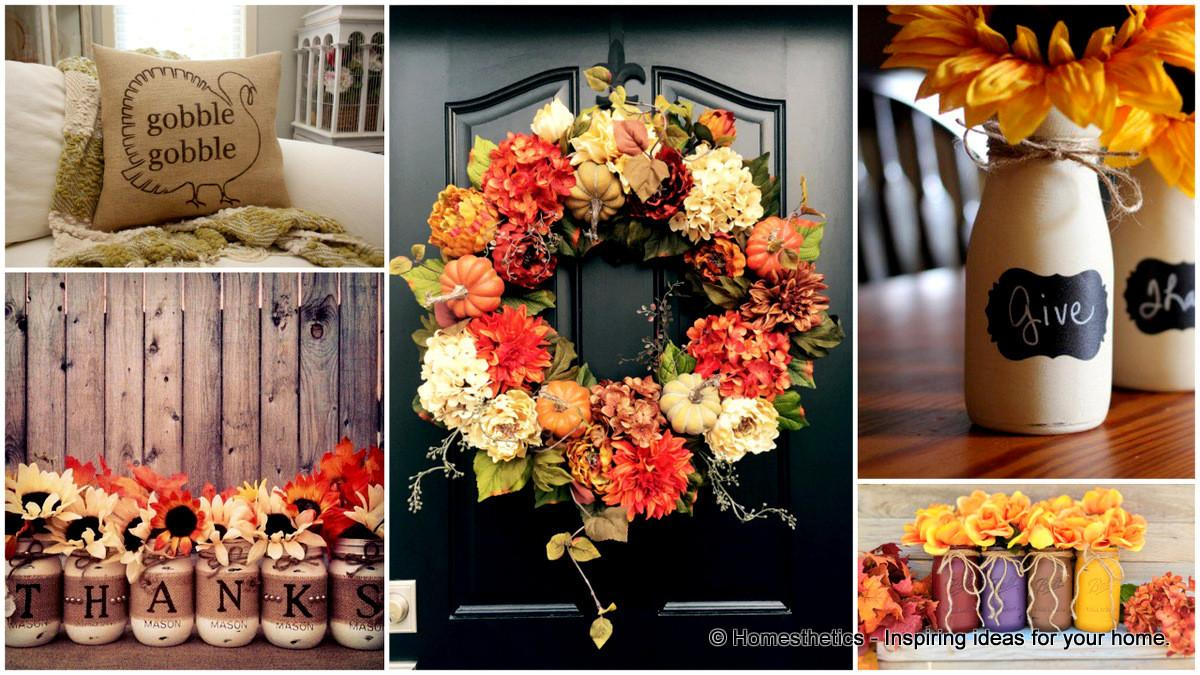 Super Cool Diy Thanksgiving Decorations Your Home