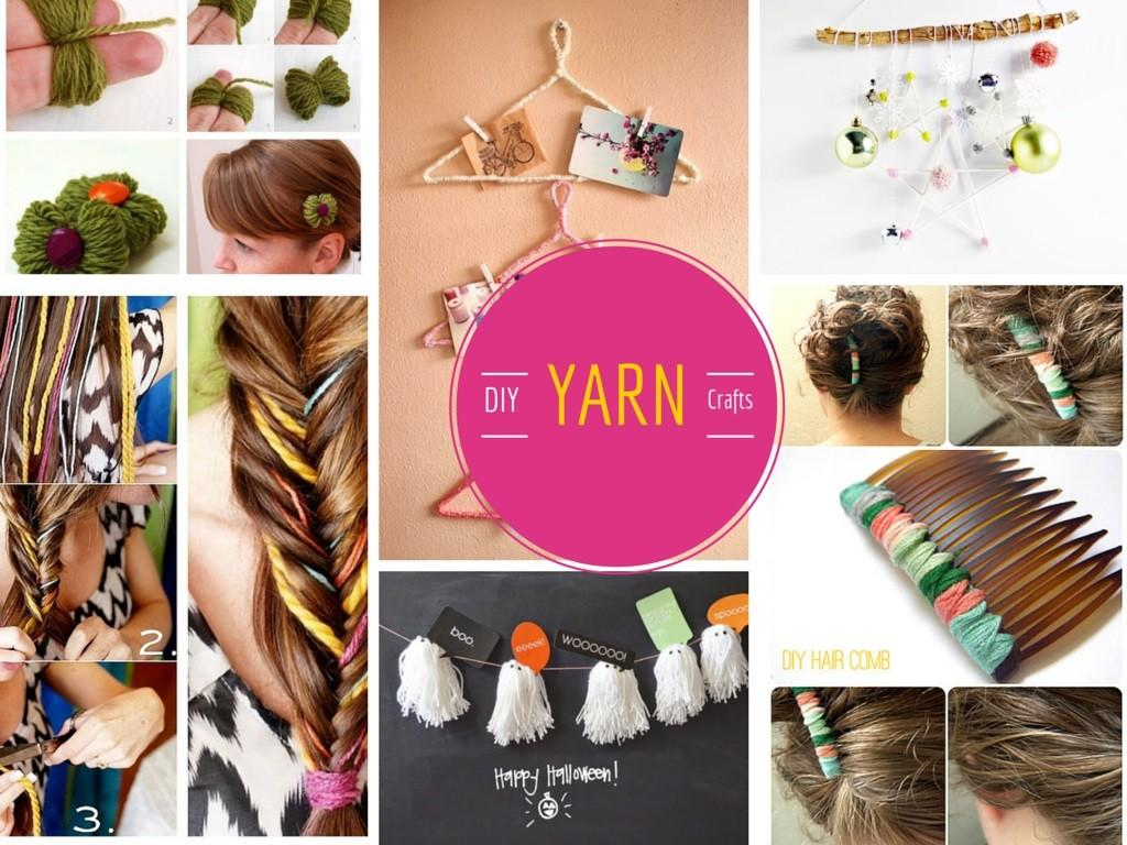 Super Cool Lovable Diy Yarn Crafts Projects Part