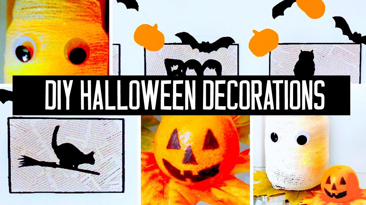 Super Easy Affordable Diy Halloween Decorations Your