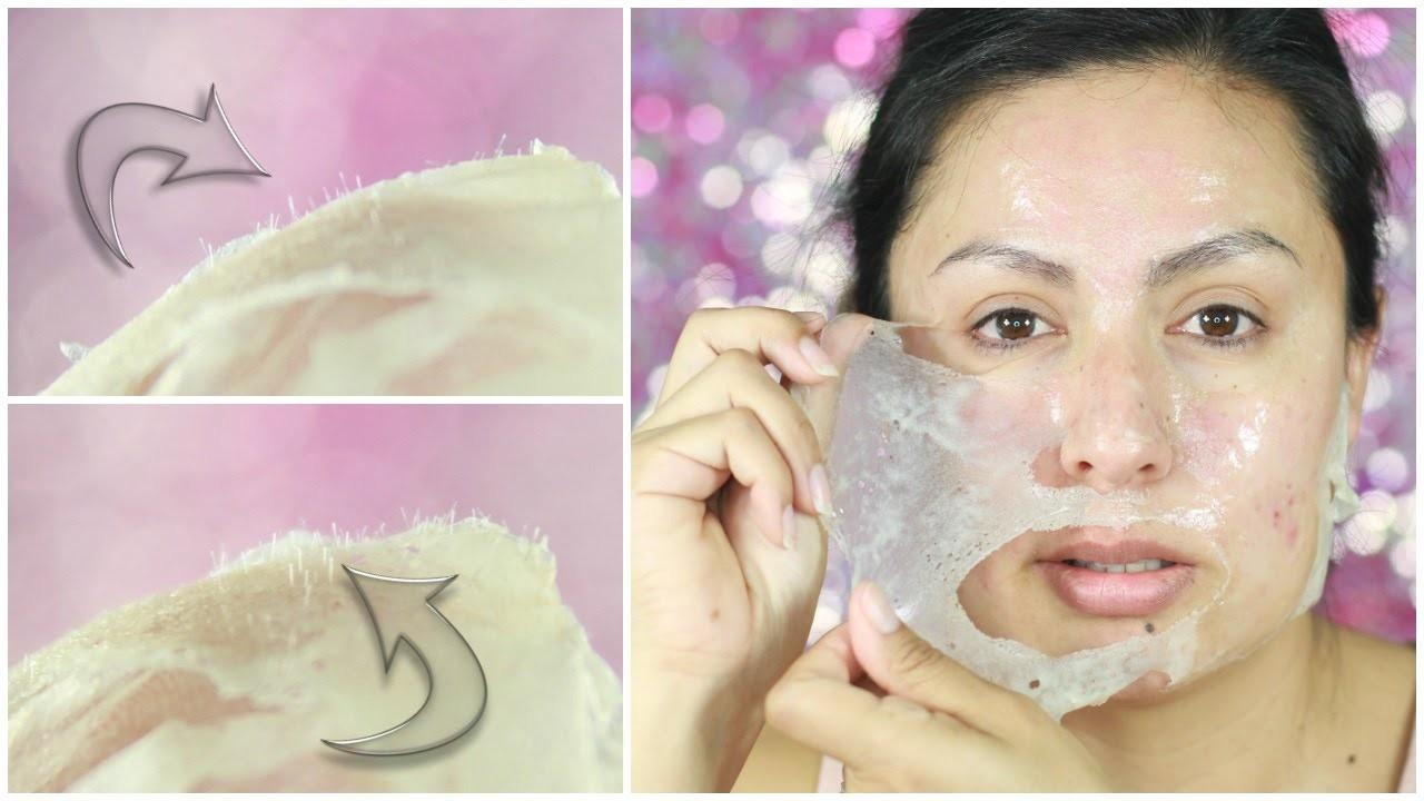 Super Easy Diy Blackhead Remover Peel Mask Actually