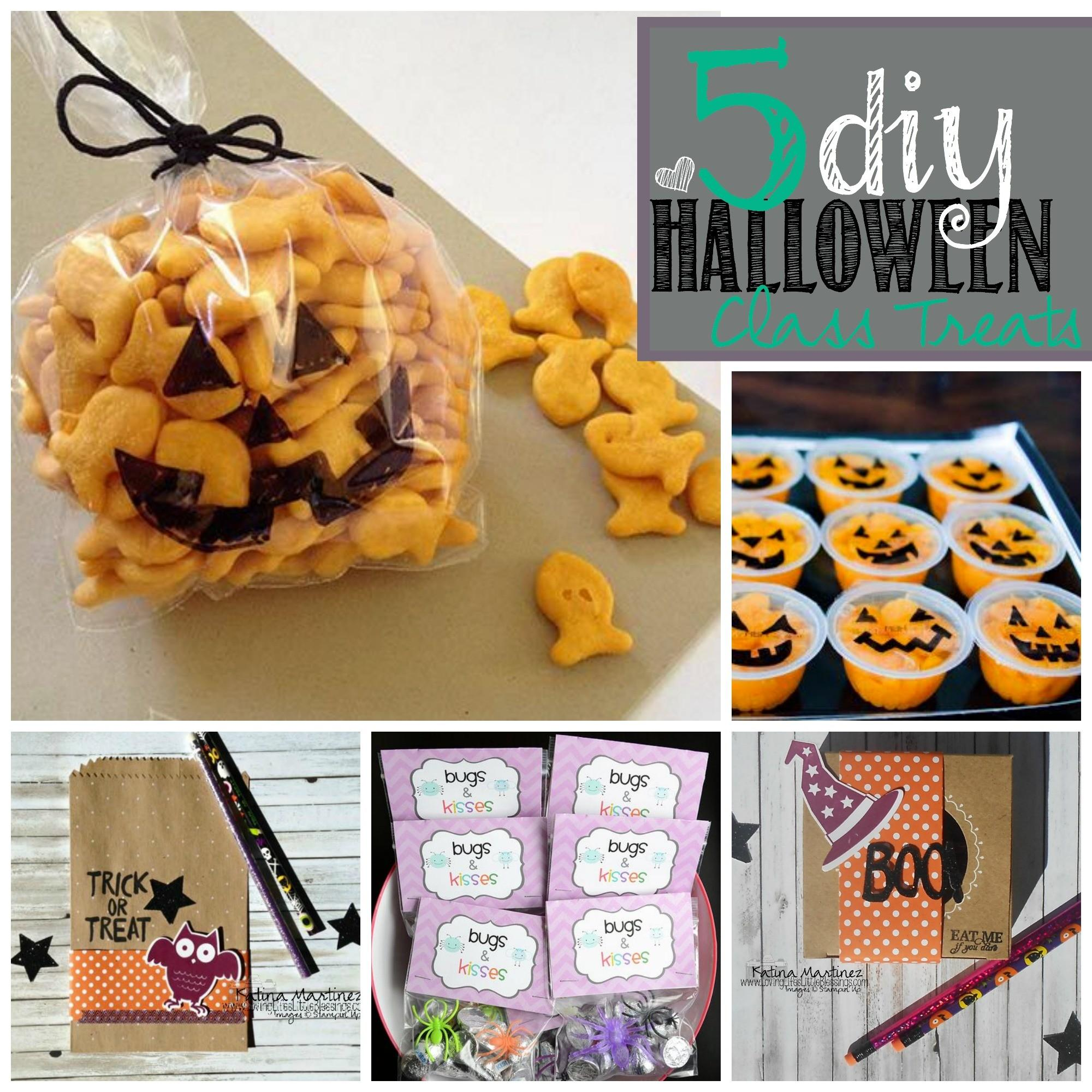 Super Easy Diy Halloween Class Treats Loving Life