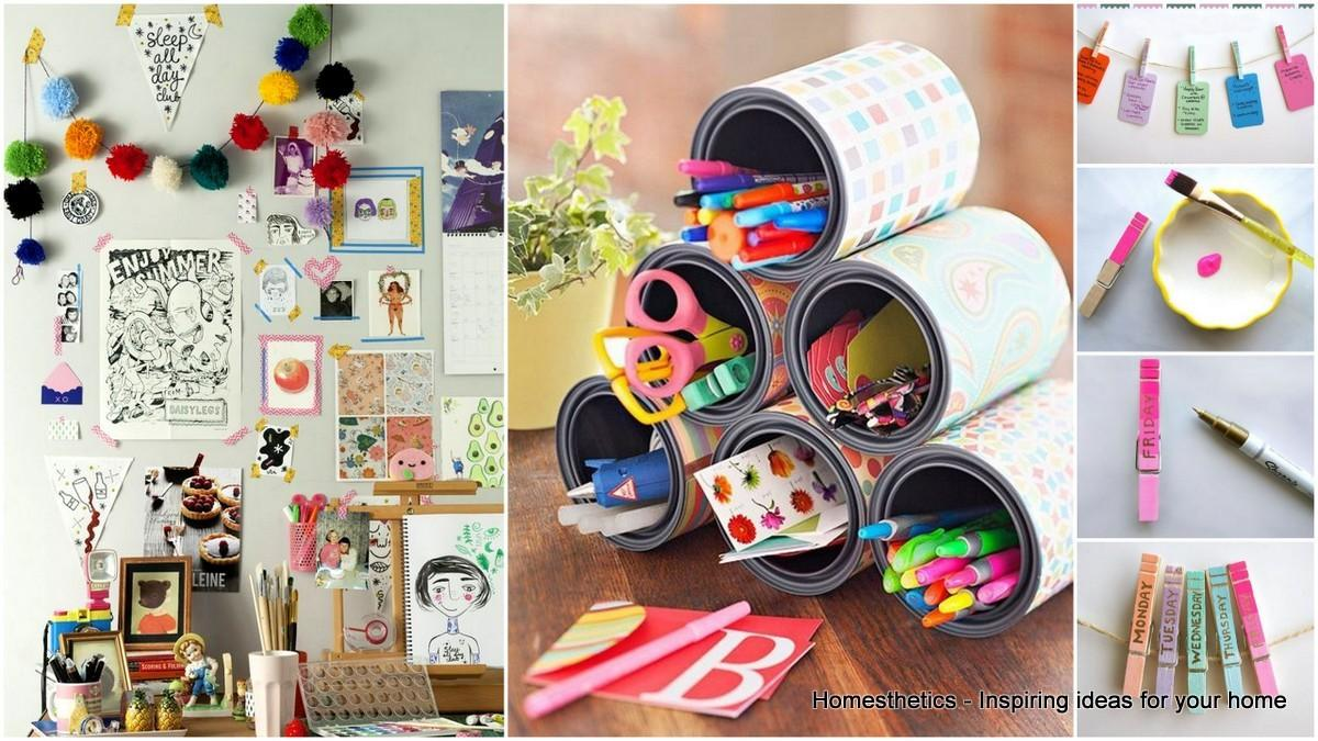 Super Useful Diy Desk Decor Ideas Follow