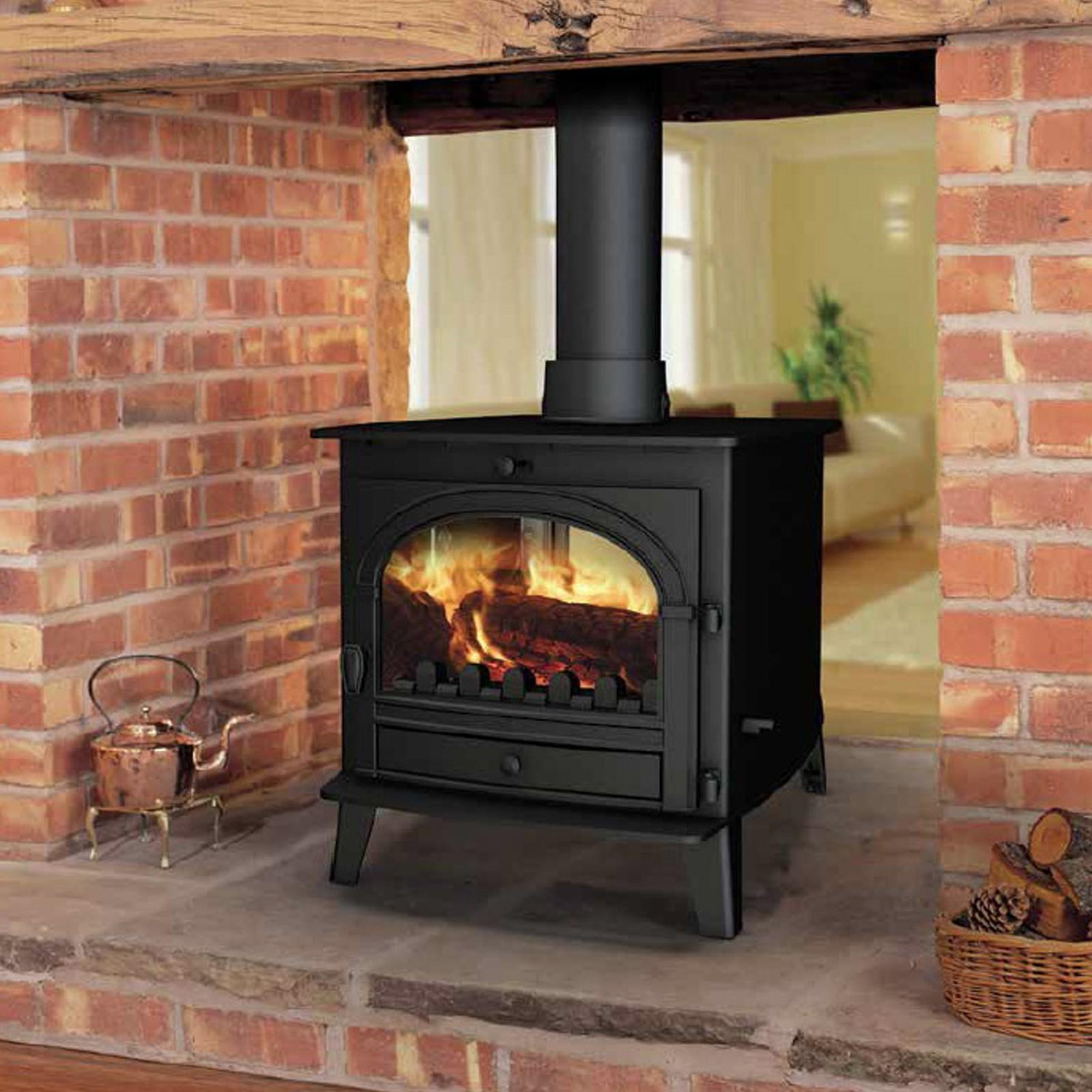 Superb Beauty Parkray Consort Double Sided Woodburning
