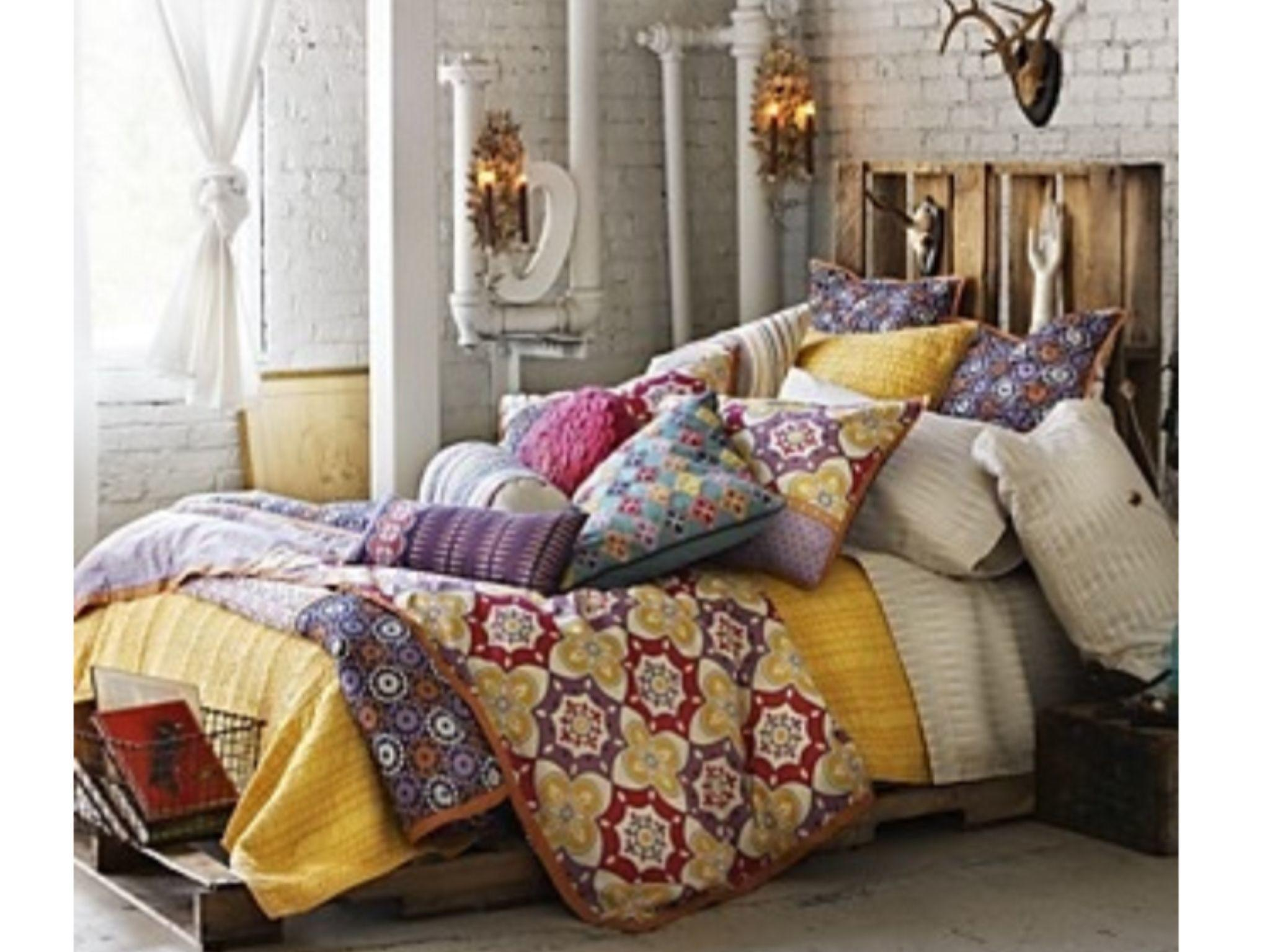 Superb Concept Mesmerizing Bohemian Style Bedroom
