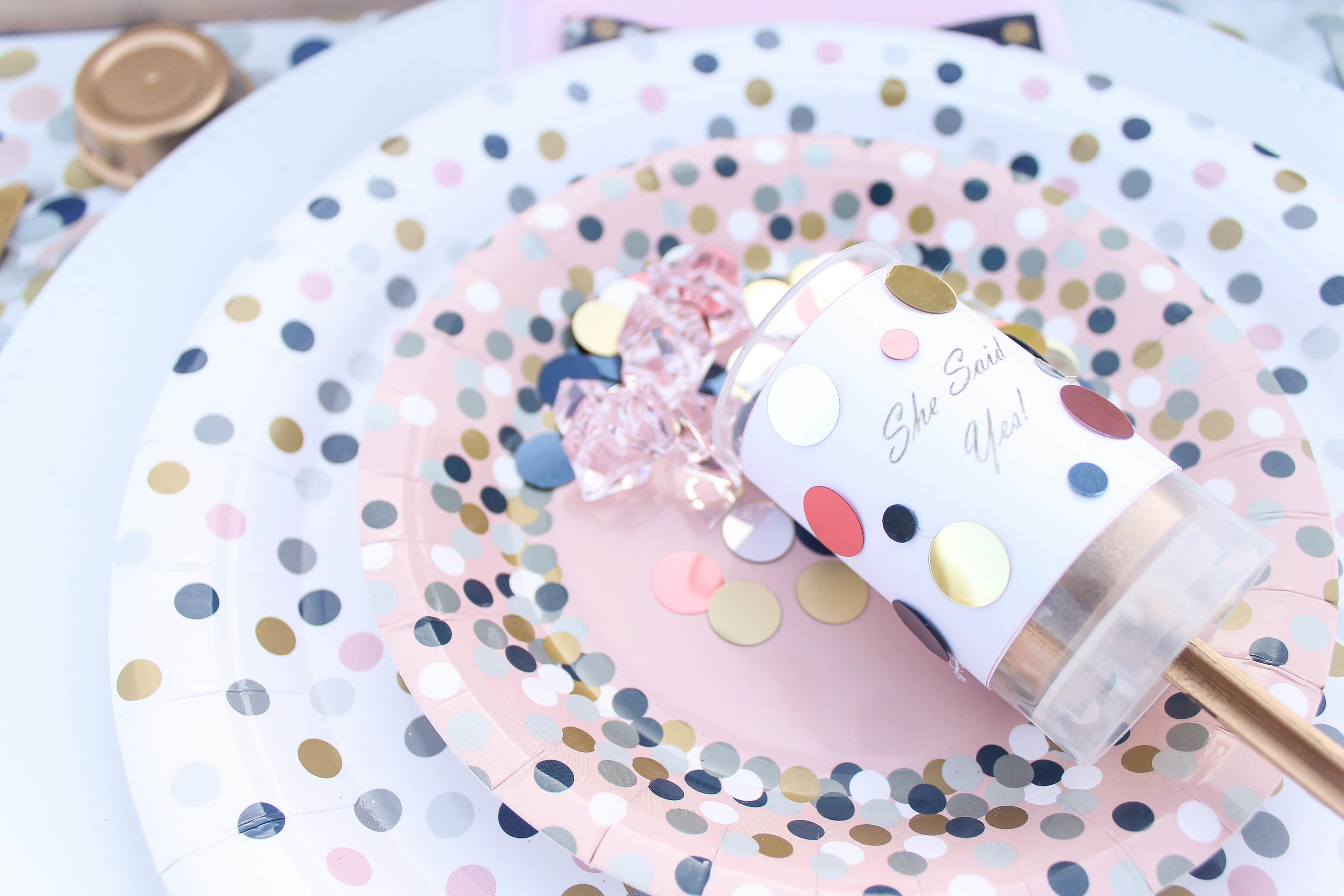 Suprise Your Guest Honor These Diy Confetti Poppers