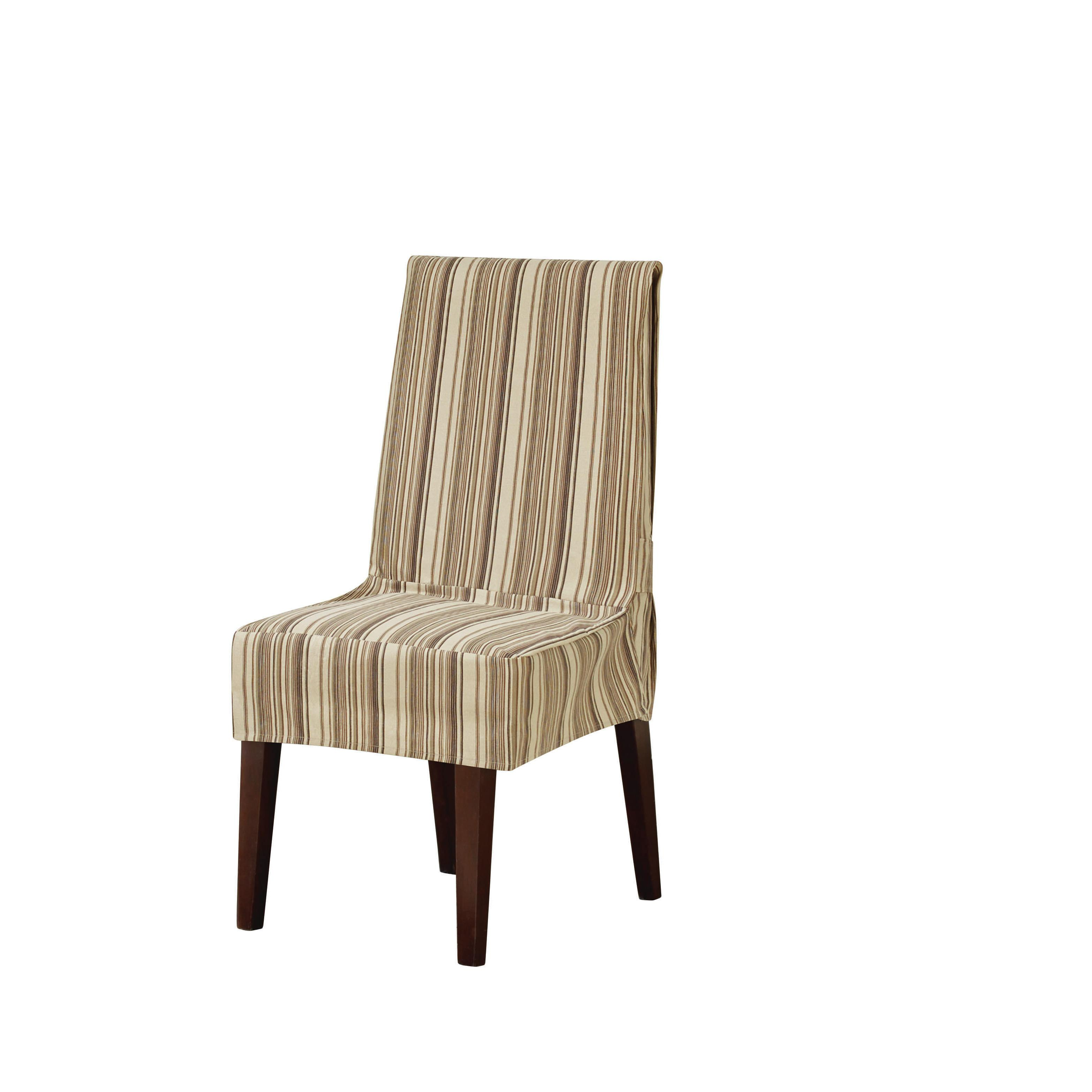 Sure Fit Harbor Stripe Dining Chair Slipcover