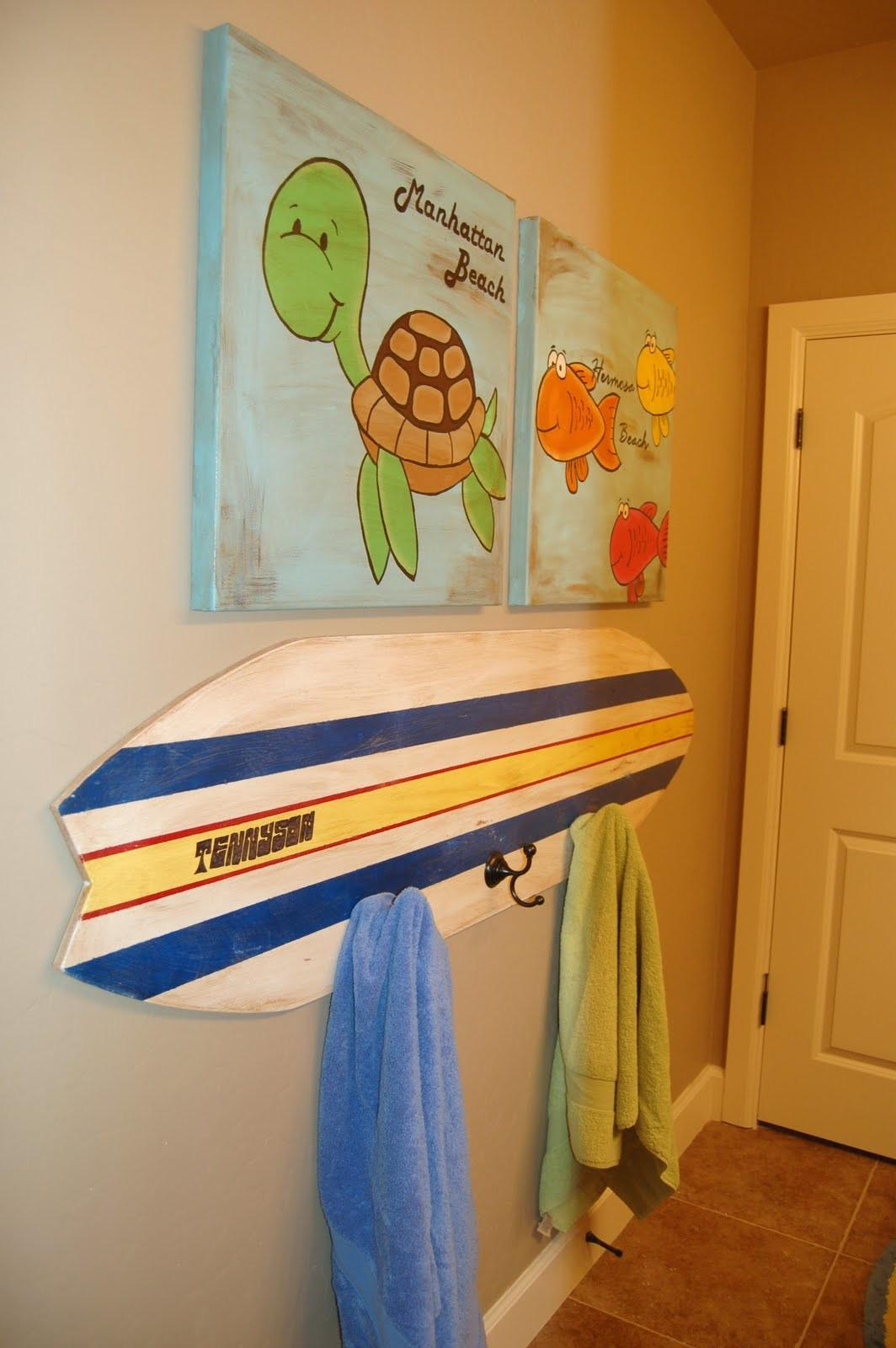 Surf Bathroom Decor Visionencarrera