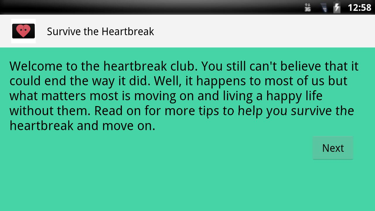 Survive Heartbreak Android Apps Play