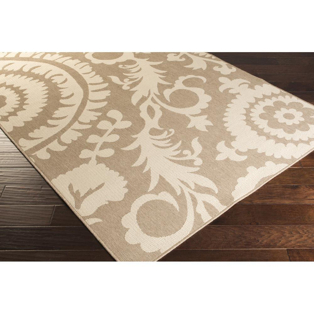 Surya Alfresco Camel Cream Indoor Outdoor Area Rug