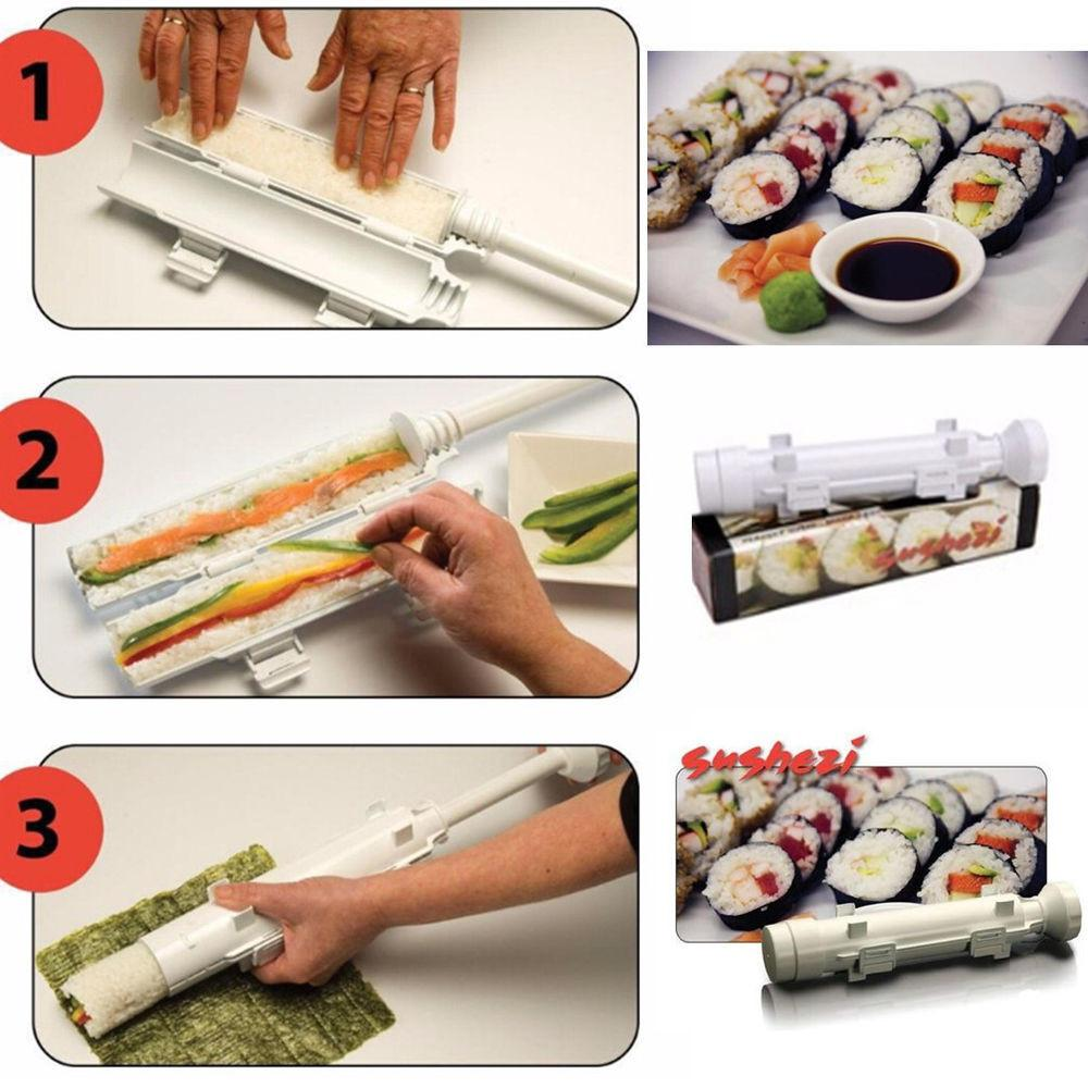 Sushi Bazooka Mould Tool Roll Maker Gourmet Cooking