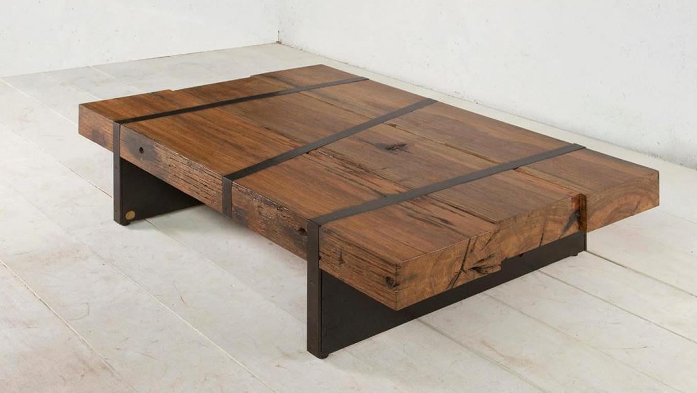 Sustainable Digby Beam Table Design Aellon New York