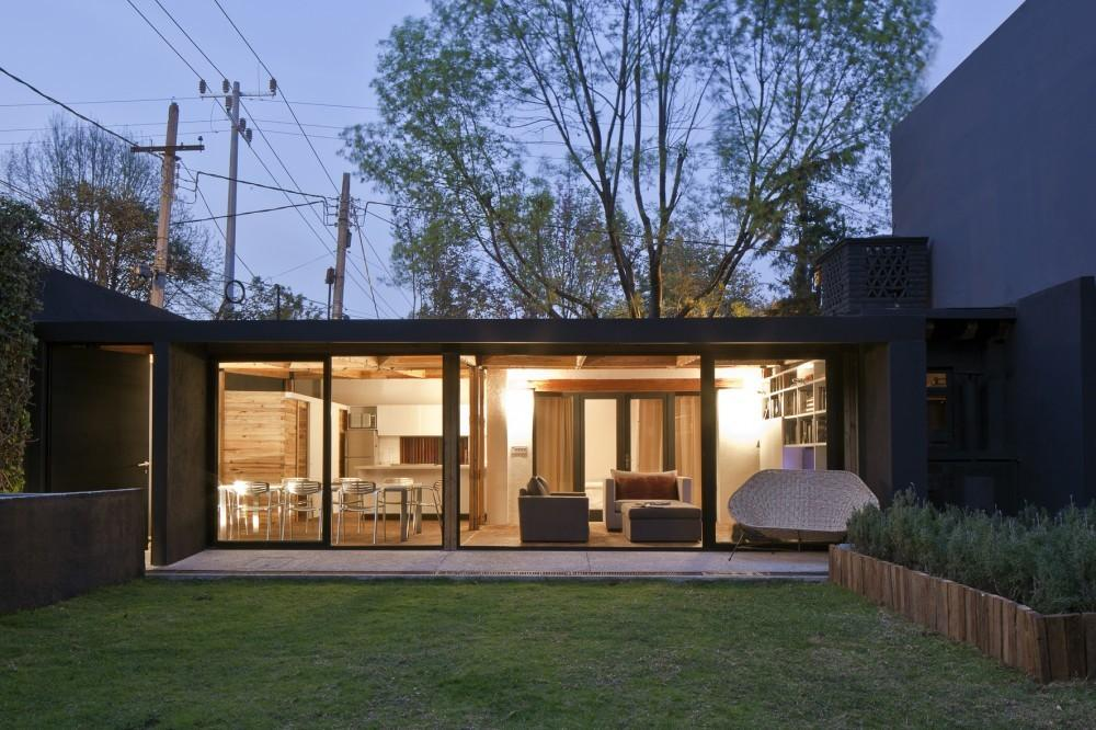 Sustainable Sqm Residence Mexico City Casa Calero