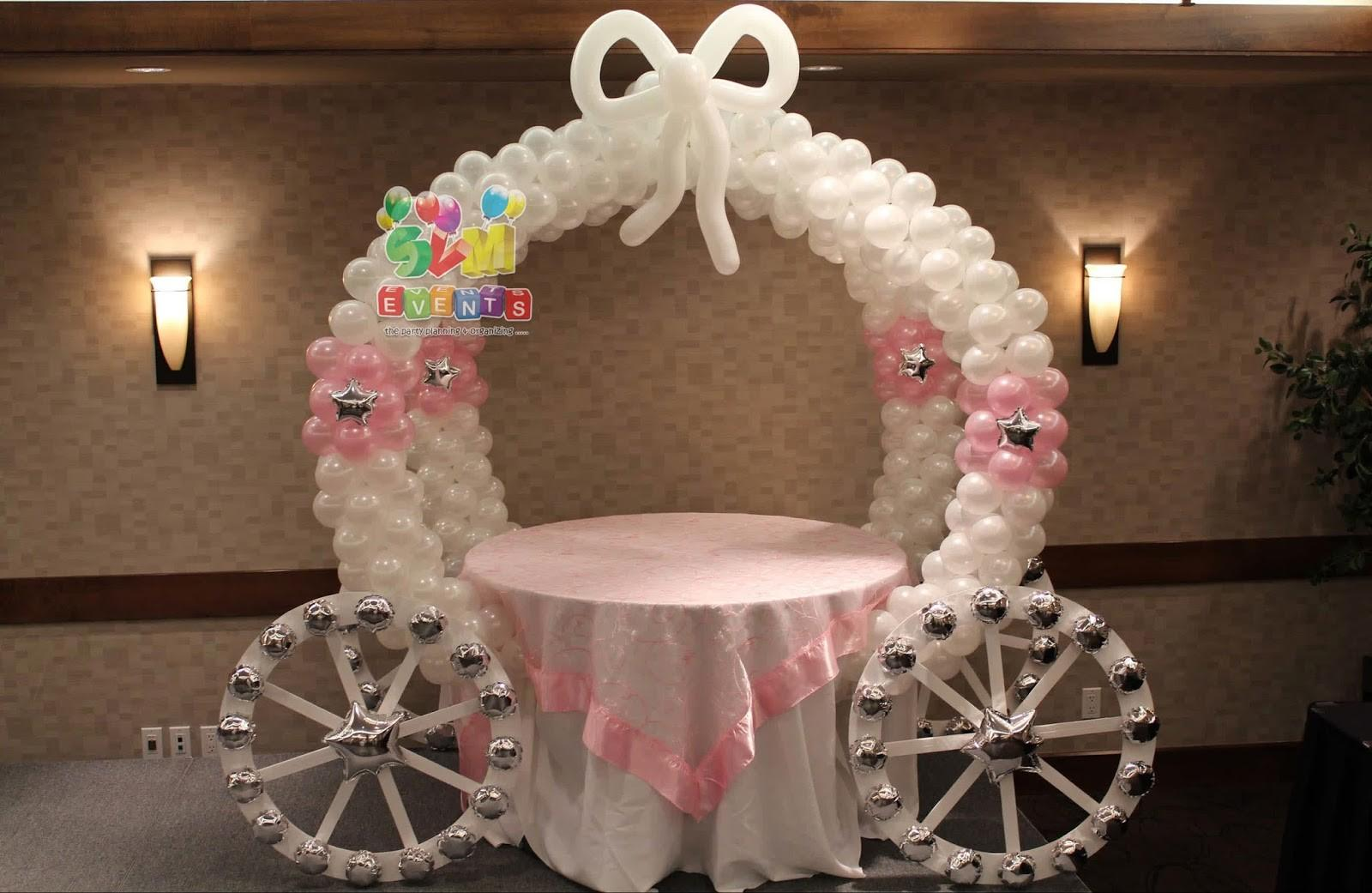Svm Events Chariot Theme Kids 1st Birthday Party