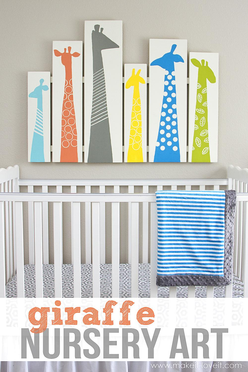 Sweet Fun Diy Nursery Decor Design Ideas