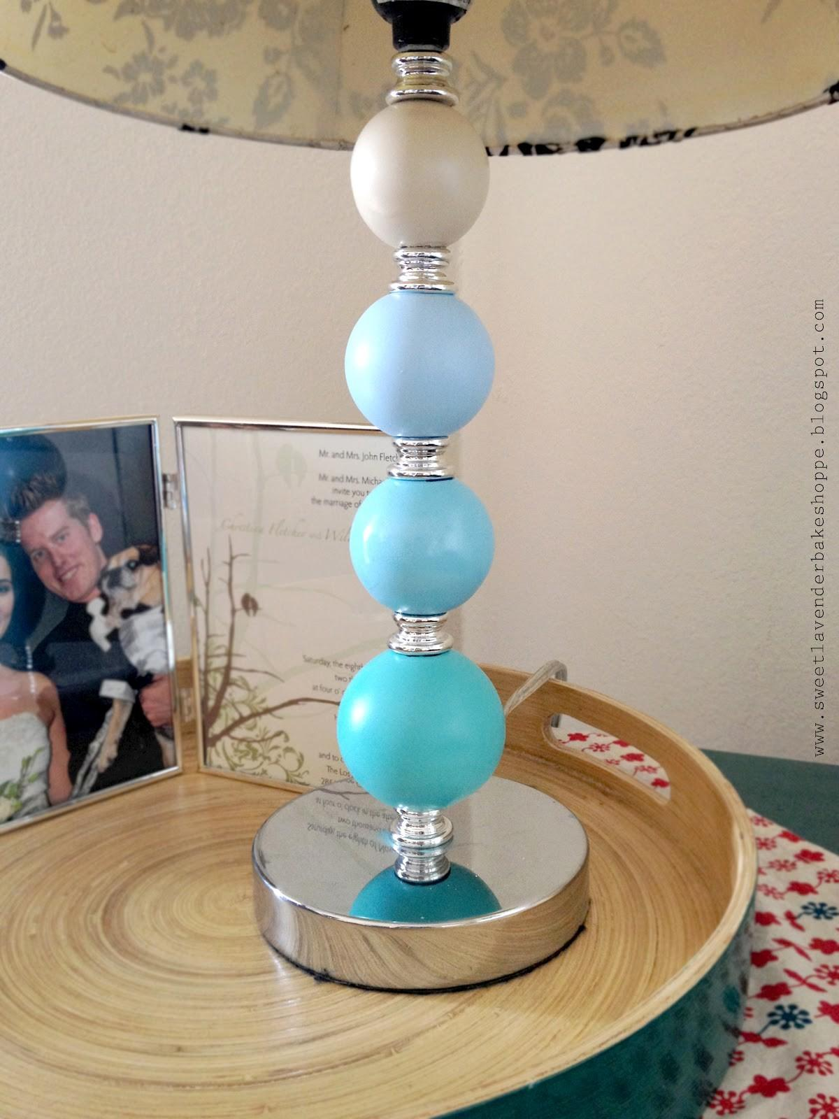 Sweet Lavender Bake Shoppe Ombre Lampstand Diy