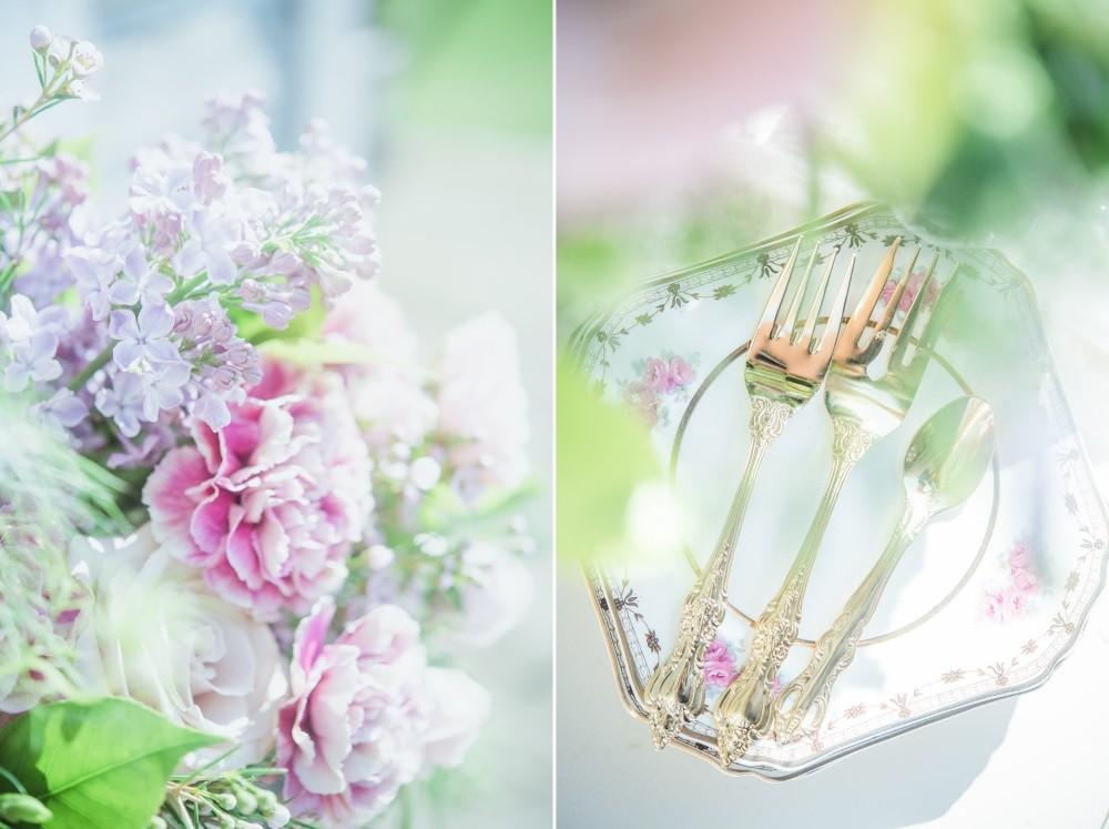 Sweet Serenity Rose Quartz Wedding Inspiration