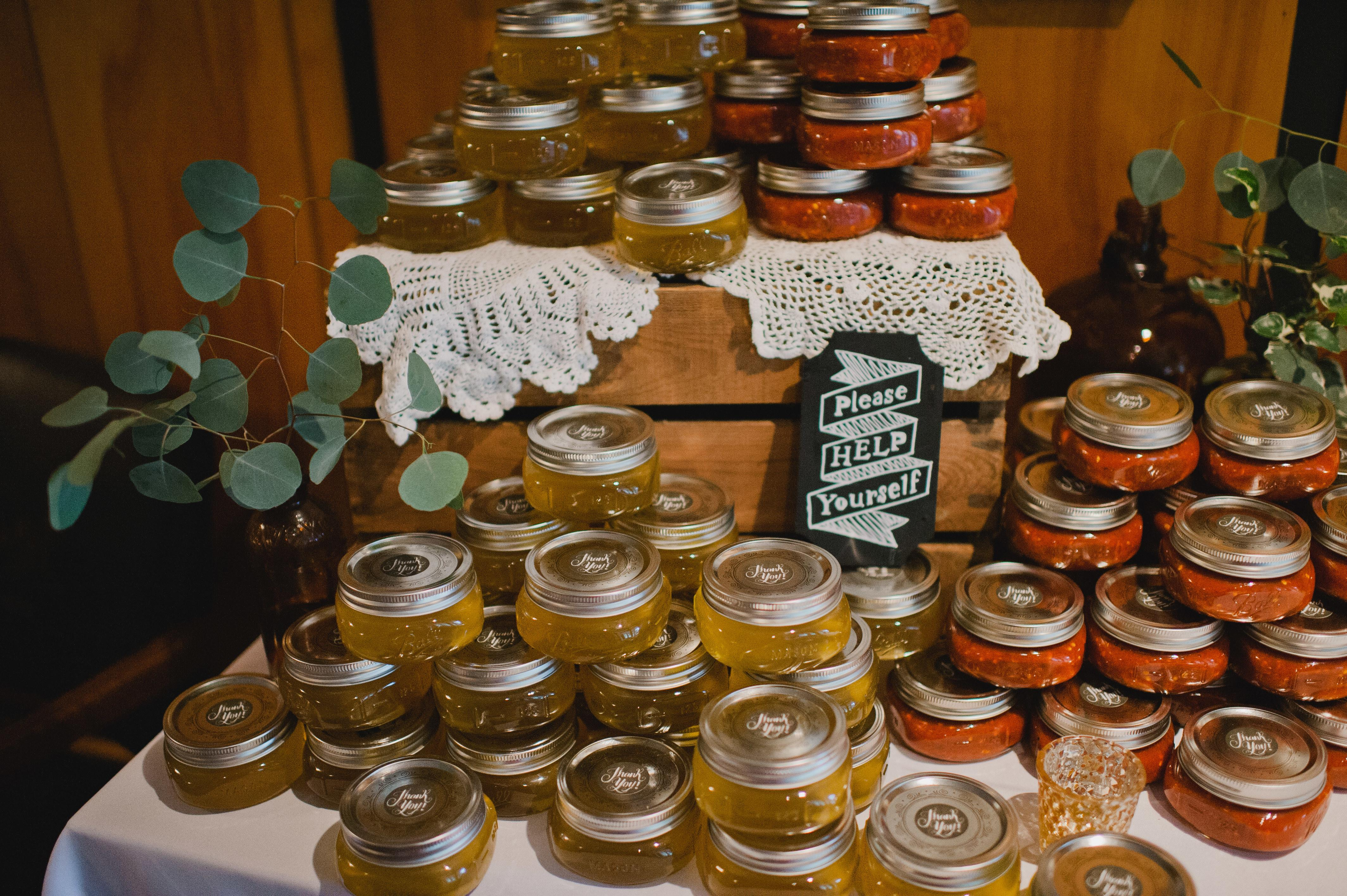 Sweet Spicy Wedding Favors