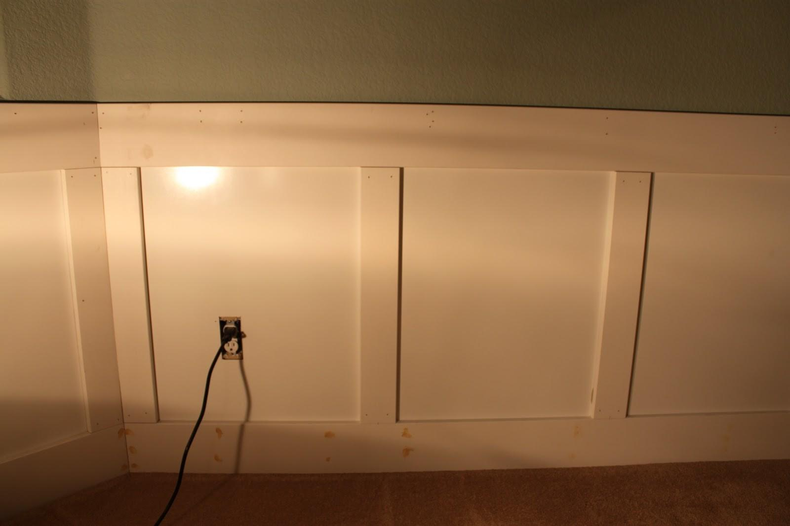 Sweet Survival Living Room Wainscoting