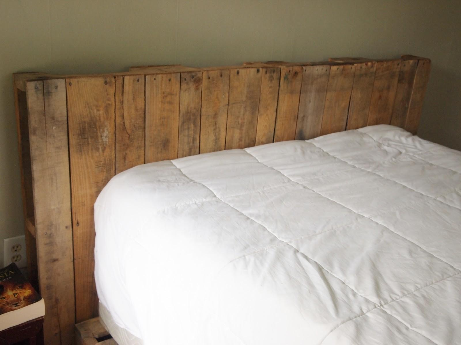 Sweet Swan Songs Easy Diy Pallet Headboard