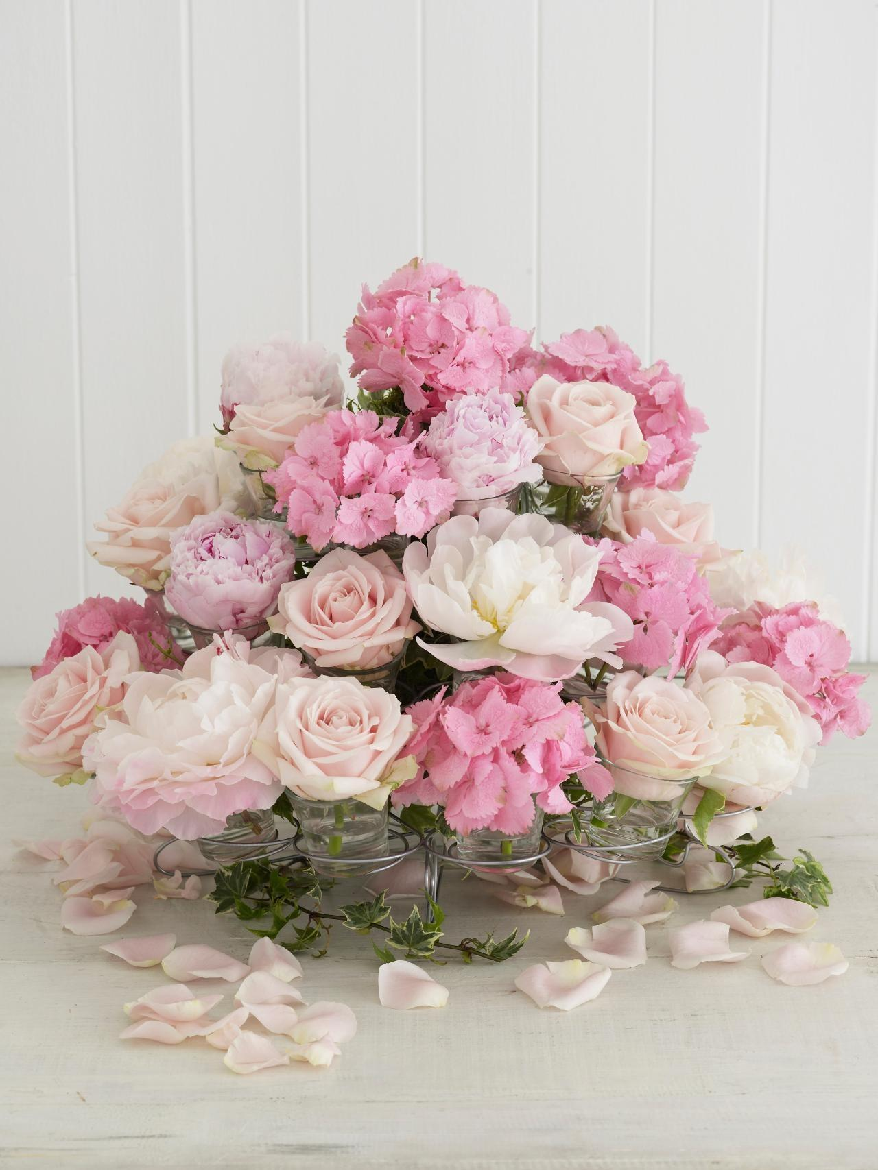 Sweeten Your Table Floral Cupcake Centerpiece
