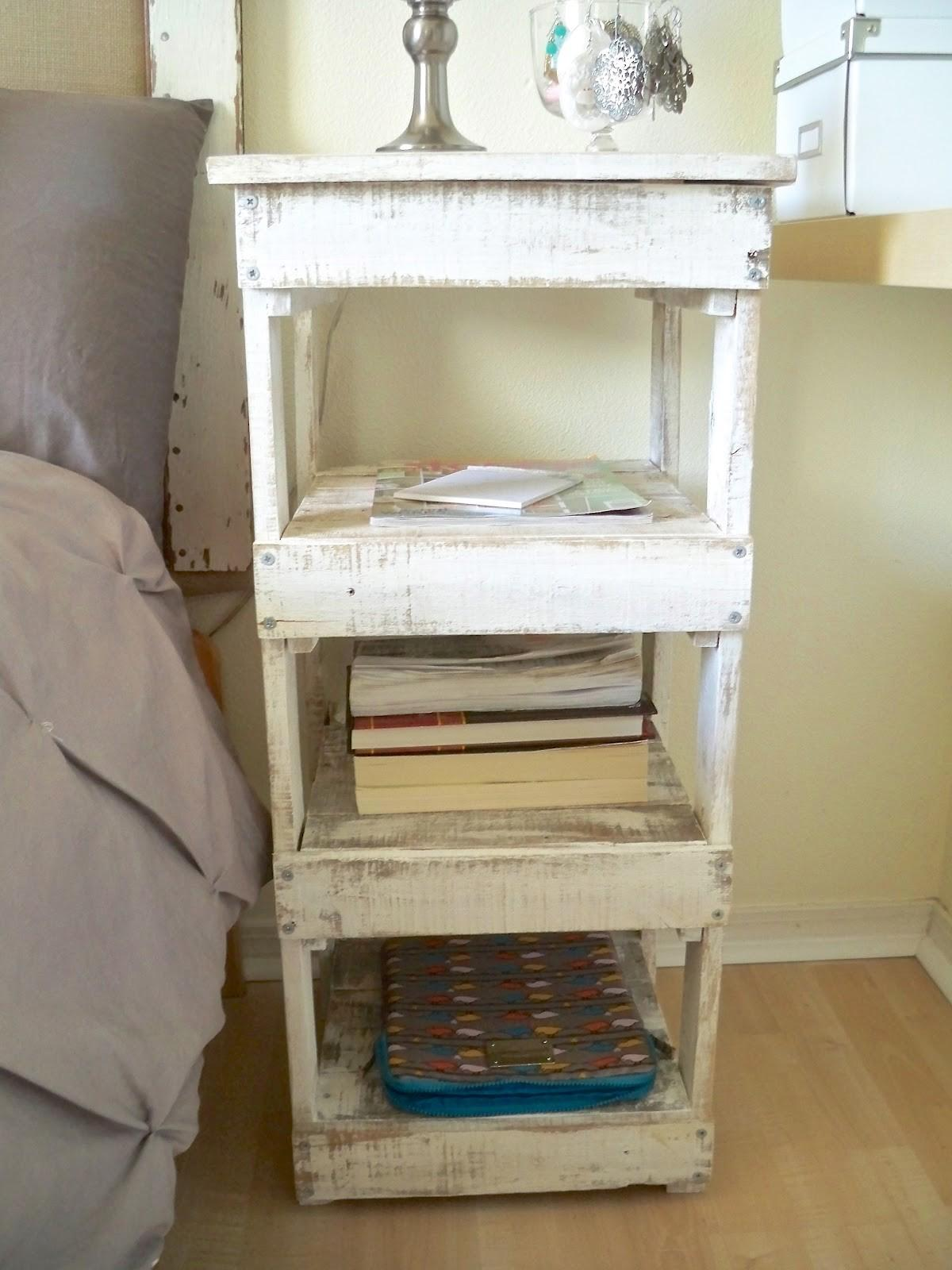 Sweetly Inspired Diy Nightstand Old Wood