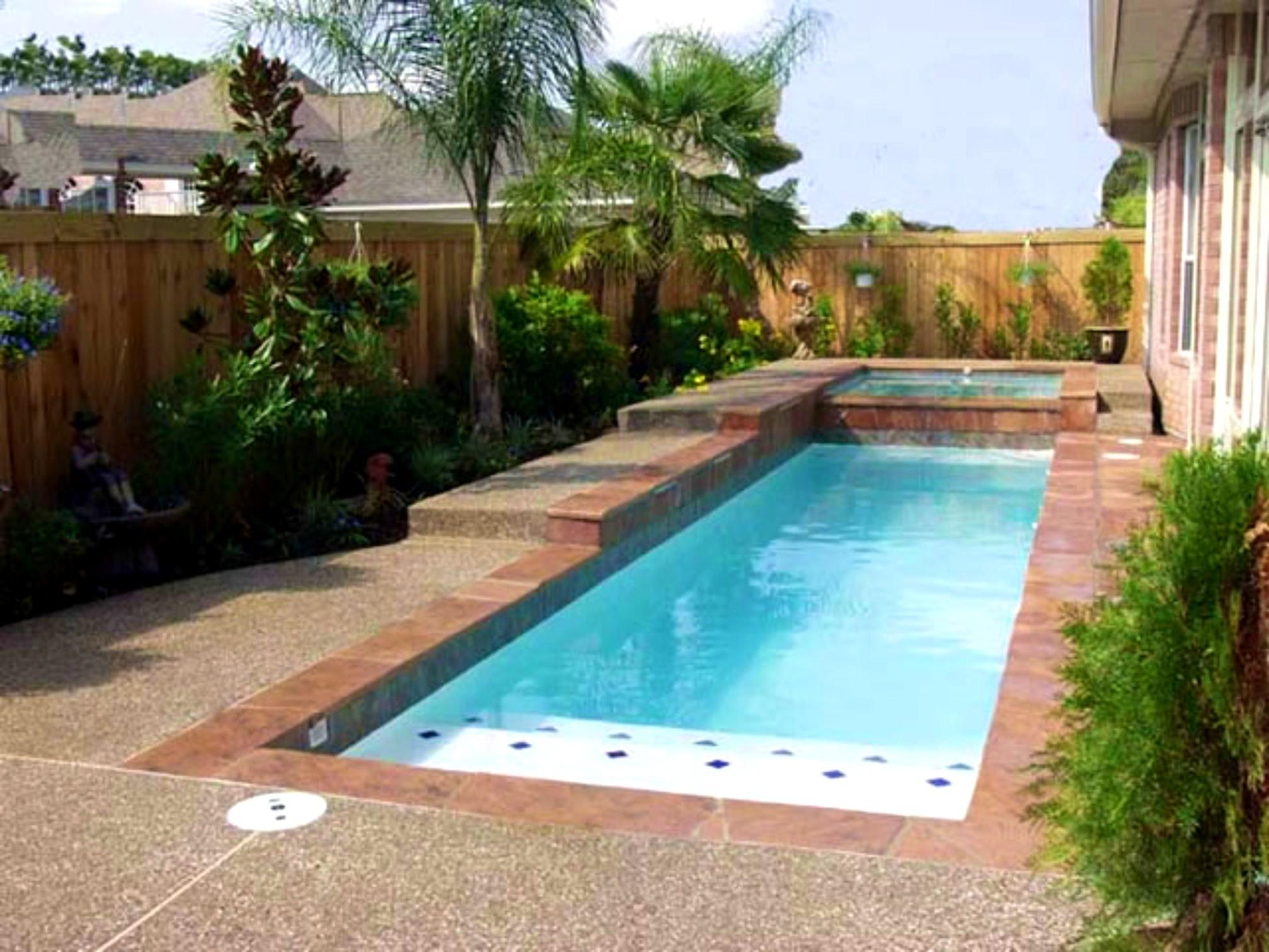 Swimming Pool Pools Designs Small Yards Also