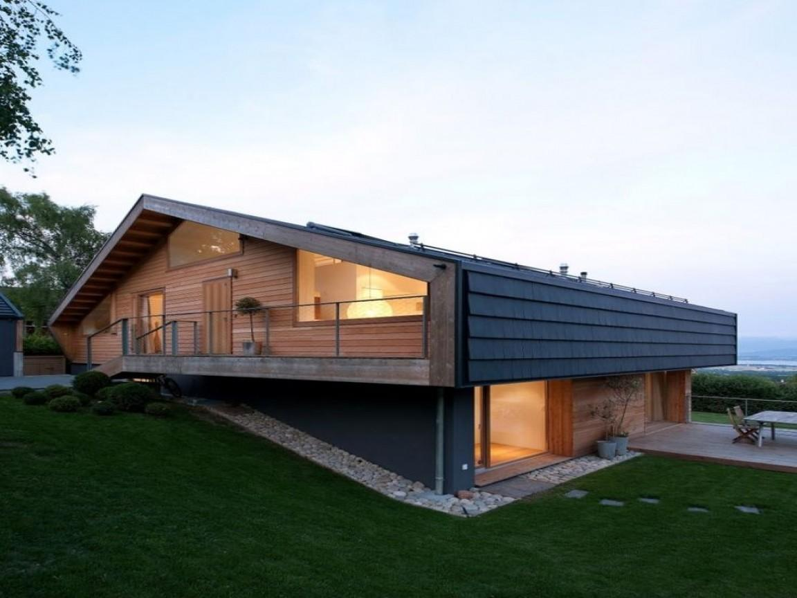 Swiss Chalet House More Modern Exterior French