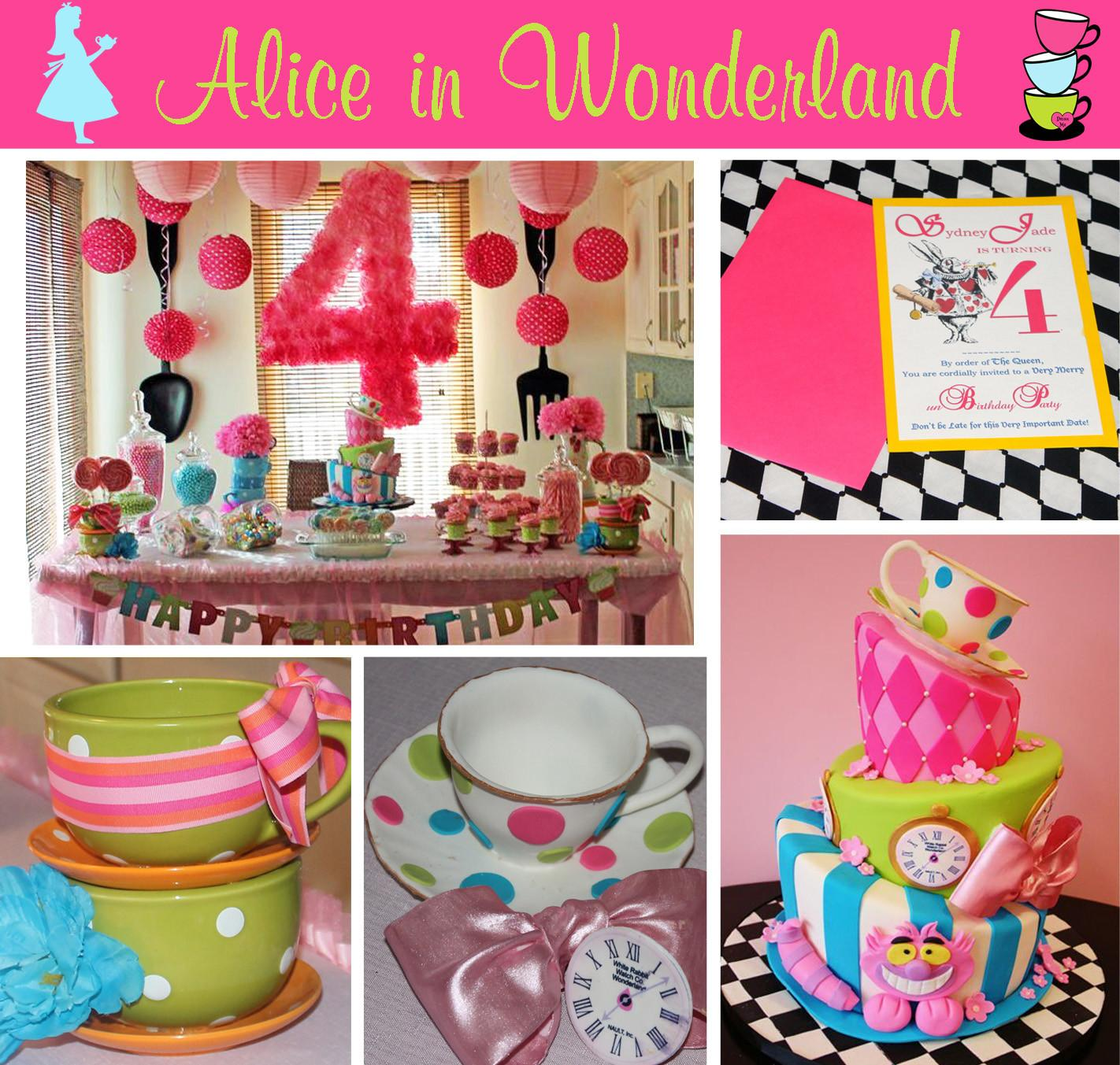 Sydney Alice Wonderland Party