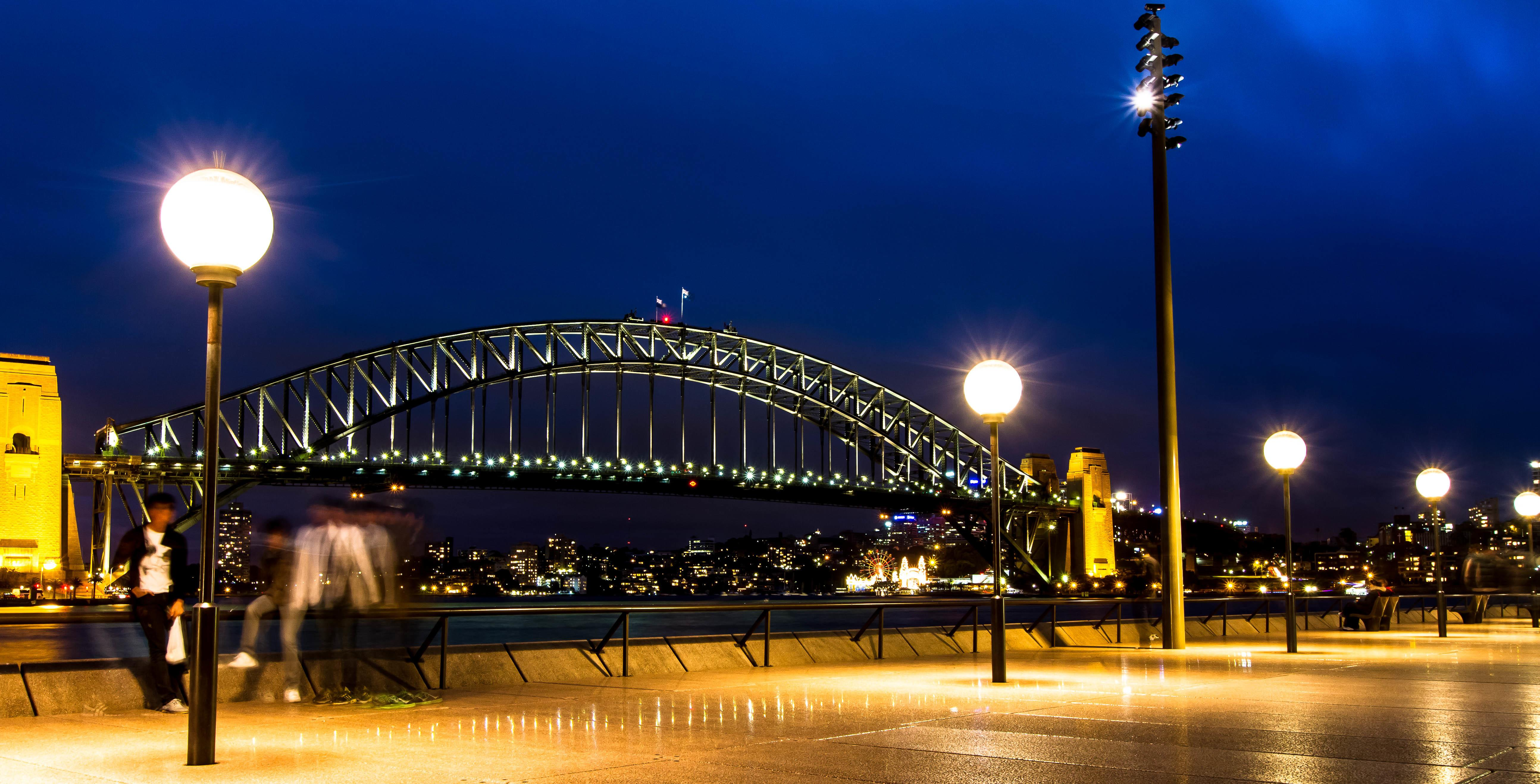 Sydney Bridge Opera House Bondi Beach Nsw