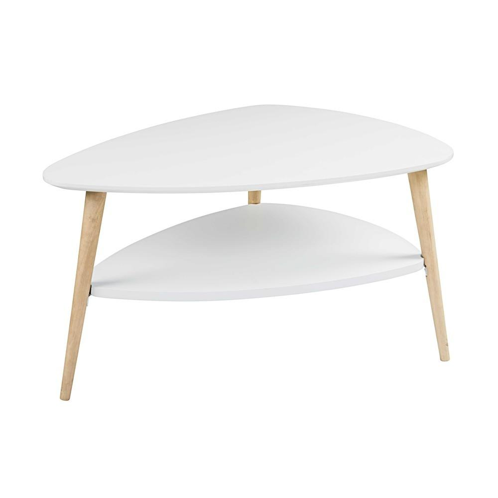 Table Basse Scandinave Blanche Spring Maisons Monde