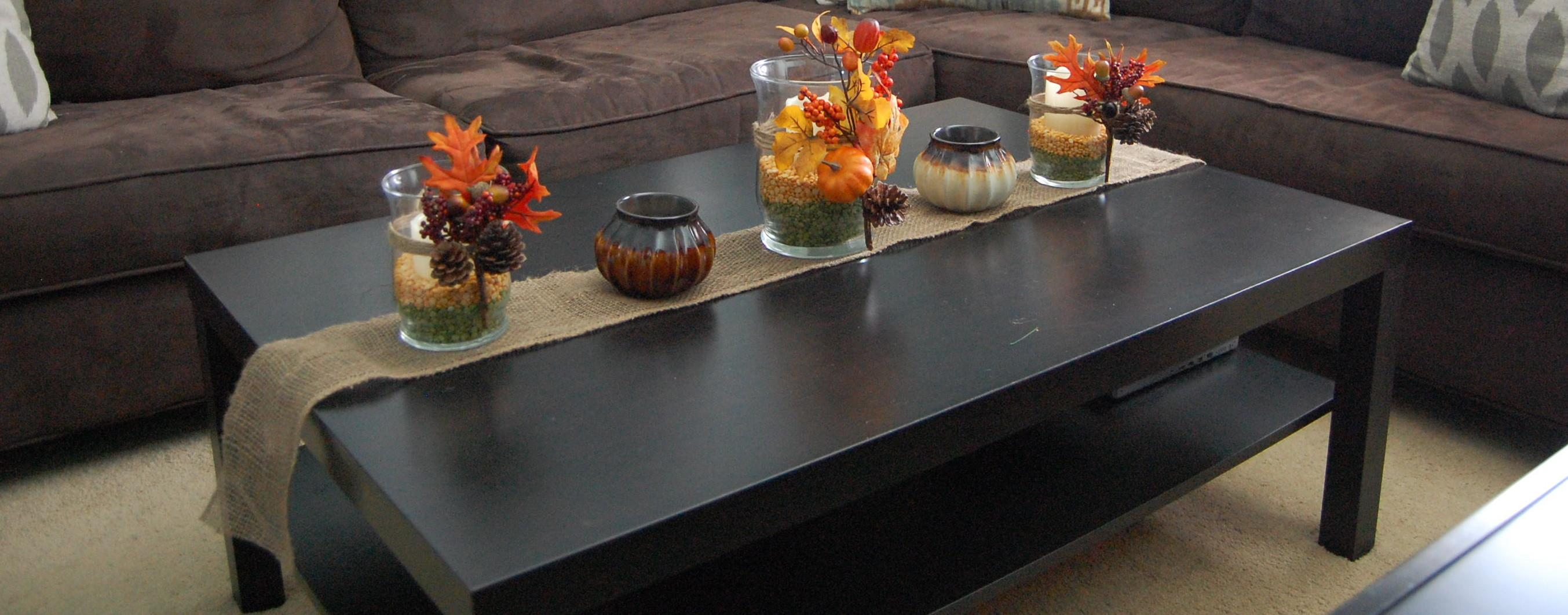 Table Centrepieces Decorating 2017 Fall