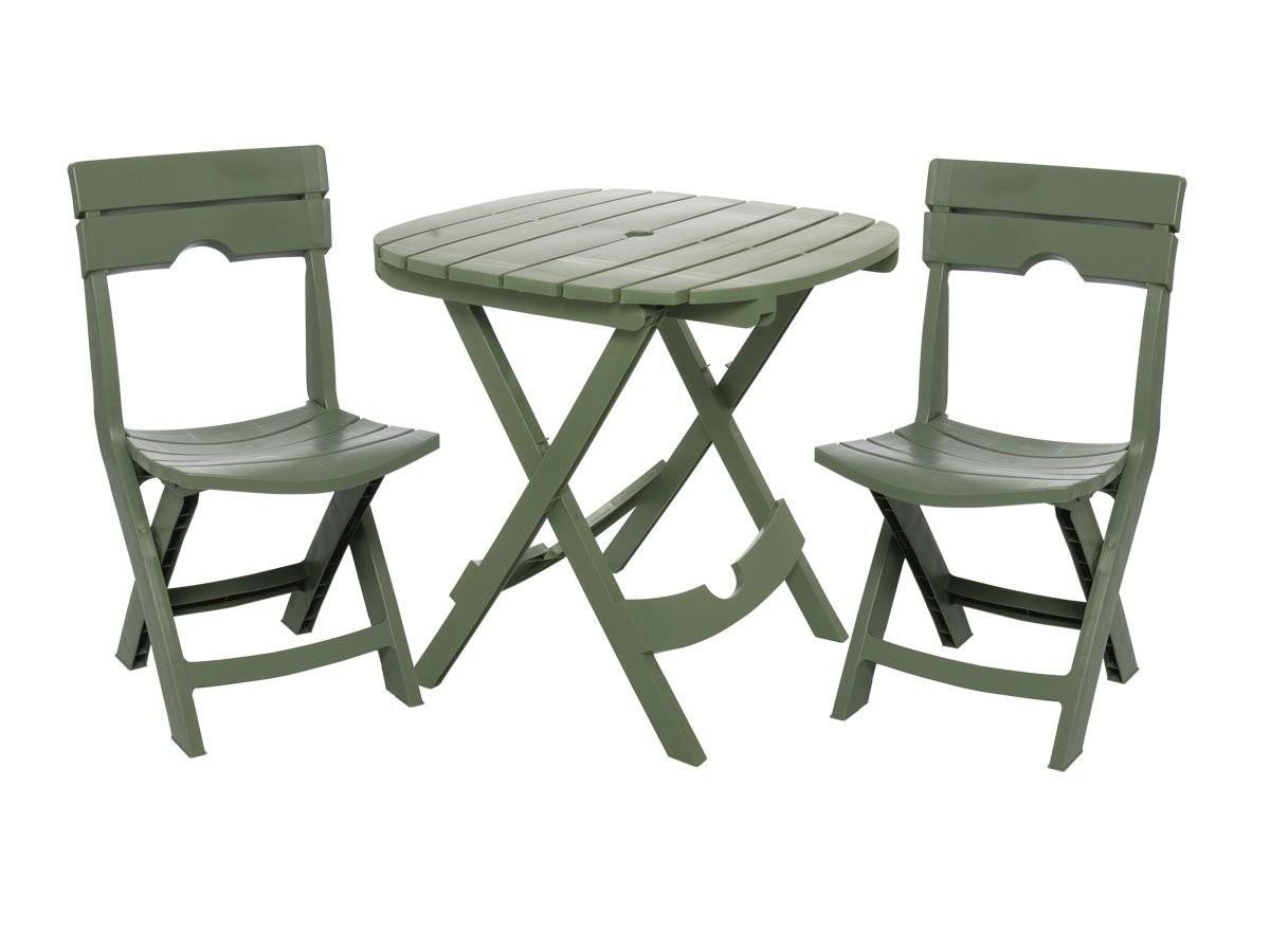Table Chair Set Outdoor Patio Furniture Folding Seat
