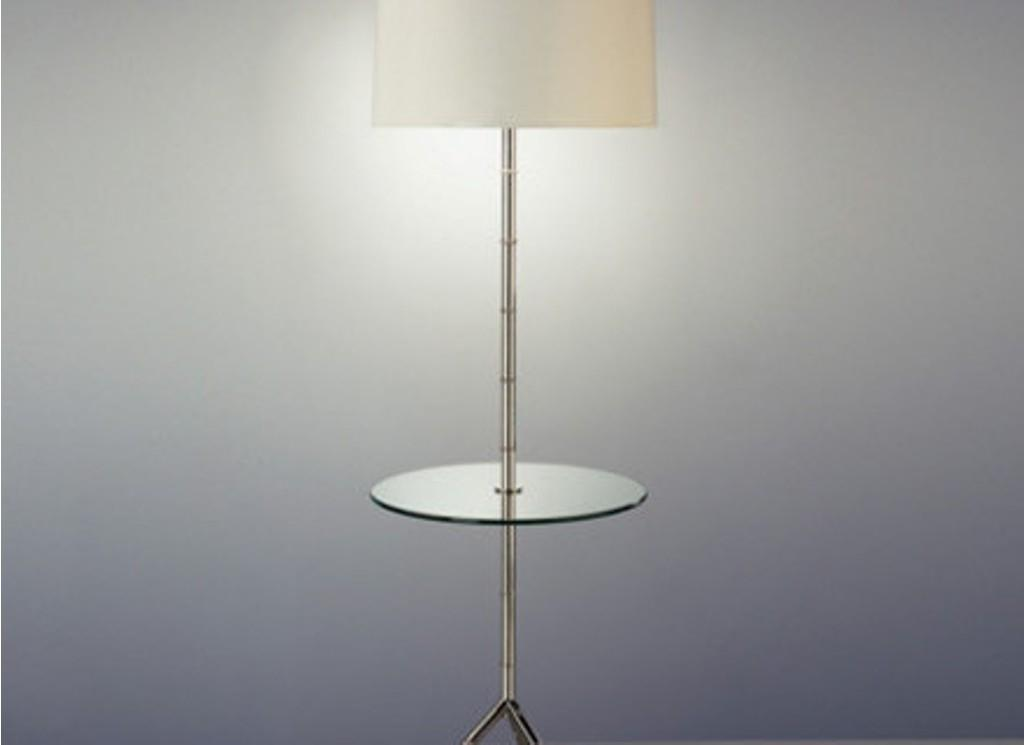 Table Lamp Contemporary Floor Attached