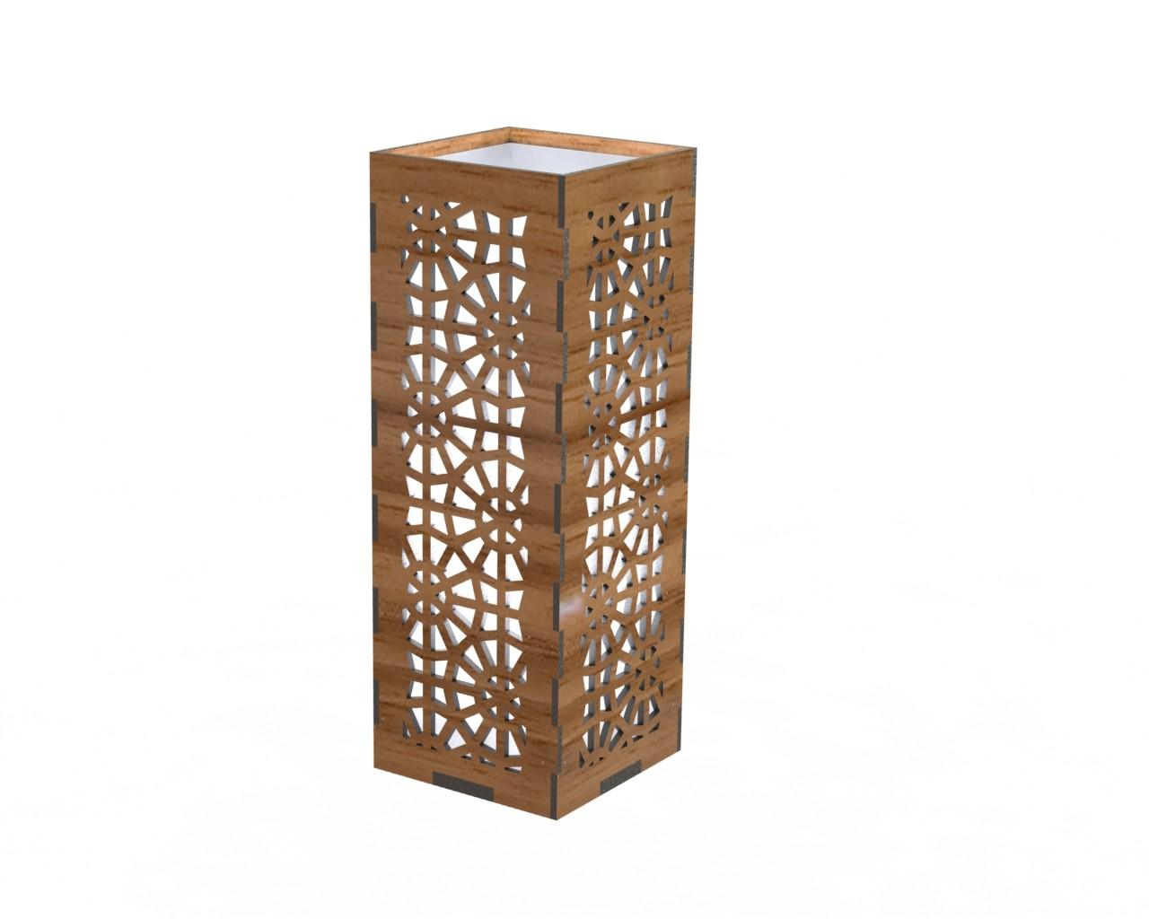 Table Lamps Collection Laser Cut Plans