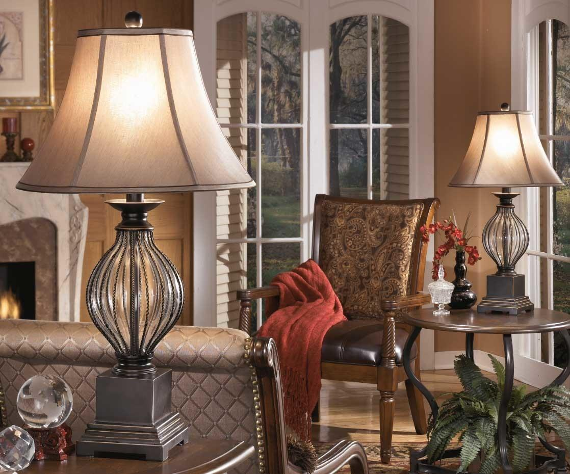 Table Lamps Living Room Traditional Elegant