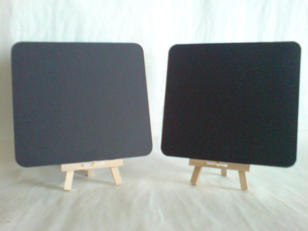 Table Top Blackboard Easel Traditional Chalk