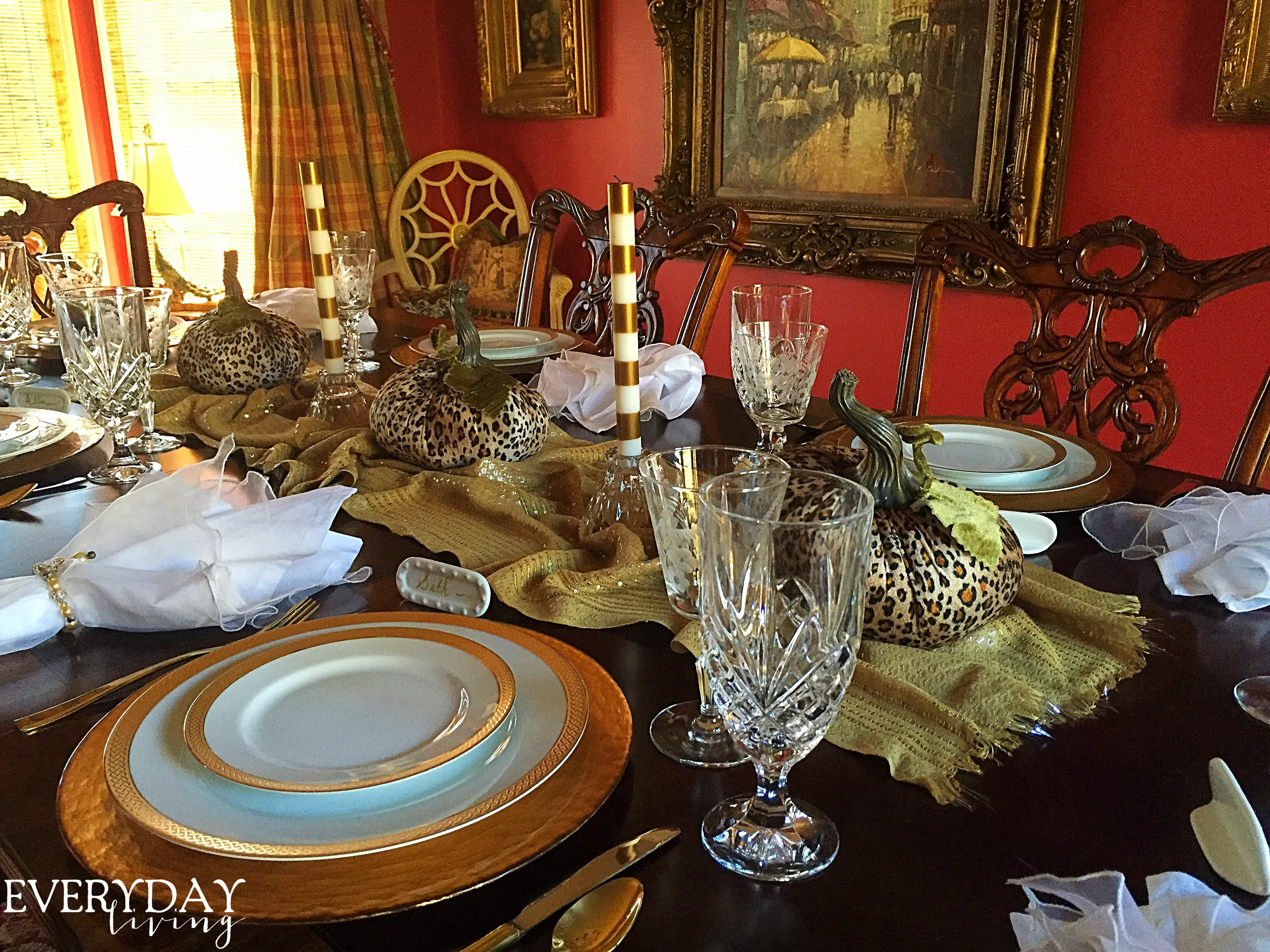 Tablescape Tuesday Spirit Thanksgiving Everyday