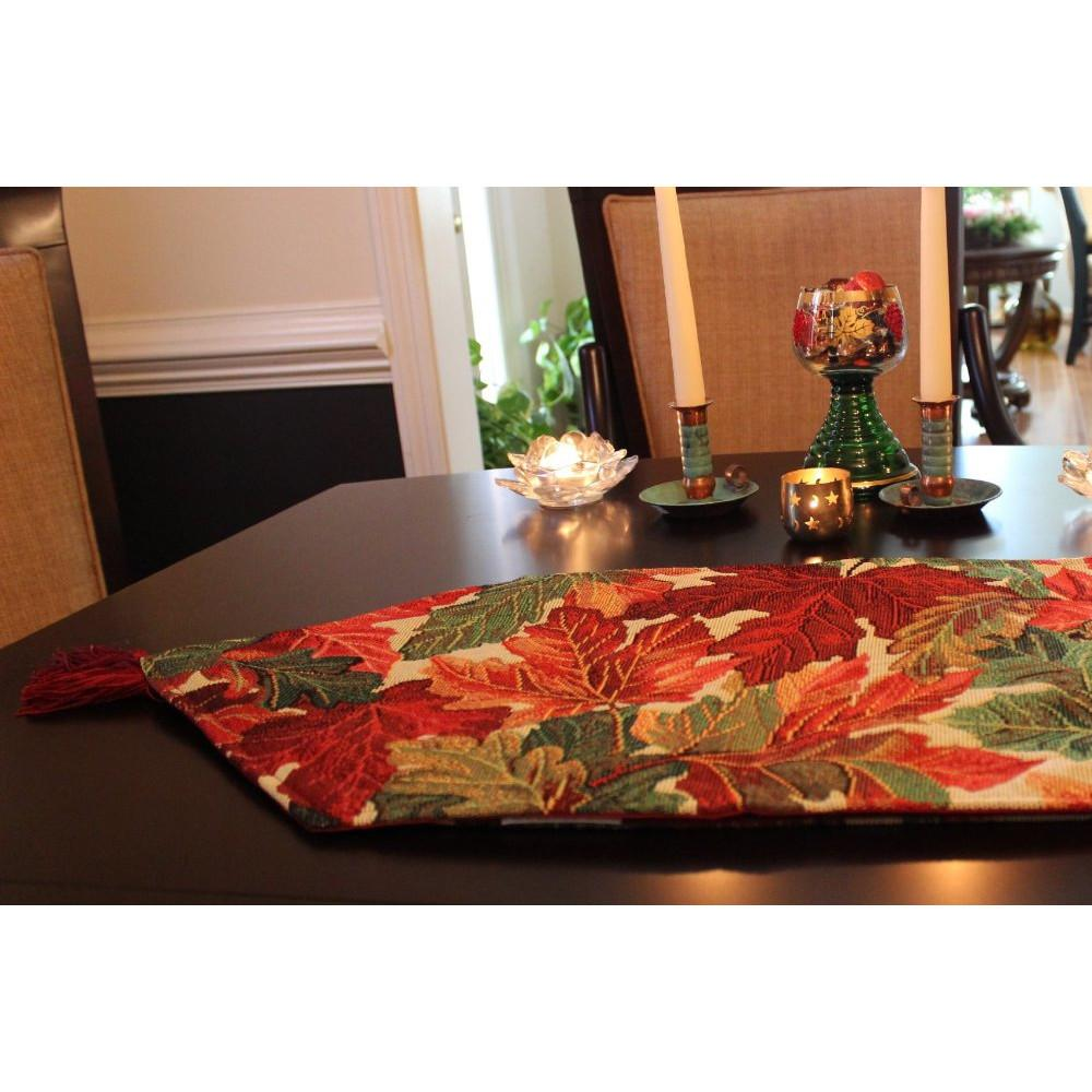 Tache Home Fashion Thanksgiving Table Runner