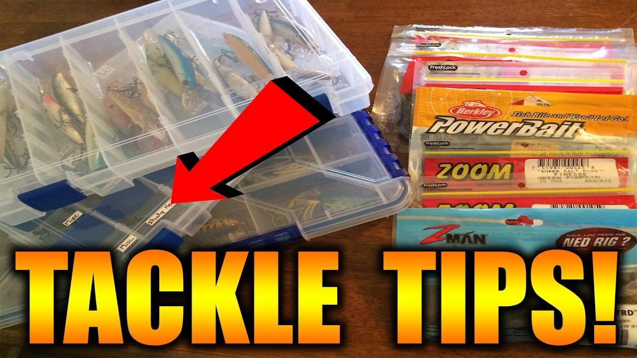Tackle Organization Tips