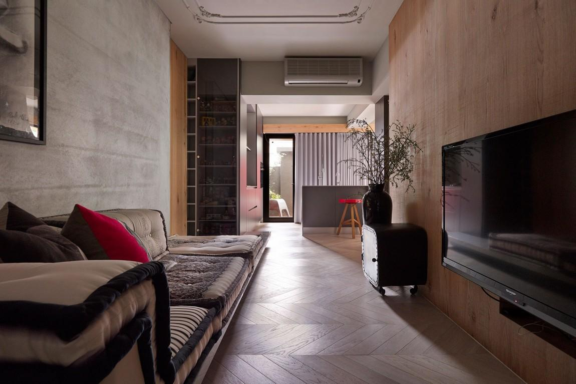 Taipei Apartment Graceful Modern Interior Design