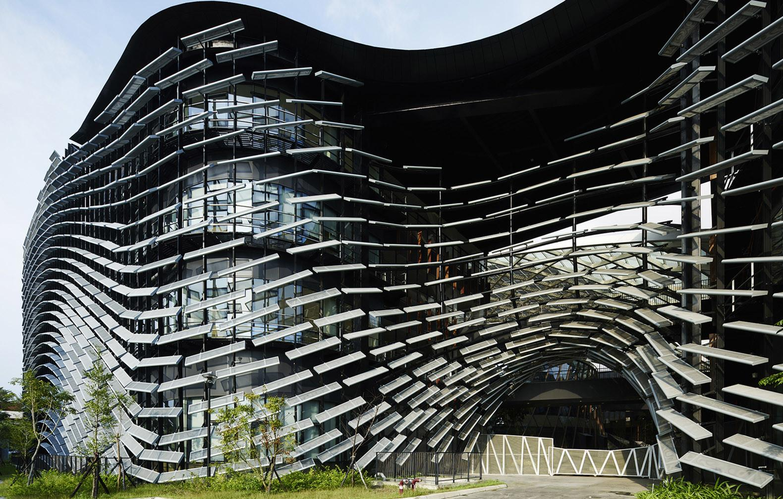 Taiwanese Research Institute Wrapped Undulating