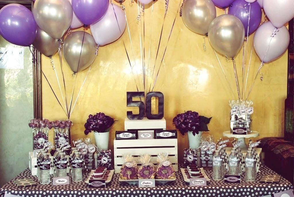Take Away Best 50th Birthday Party Ideas Men